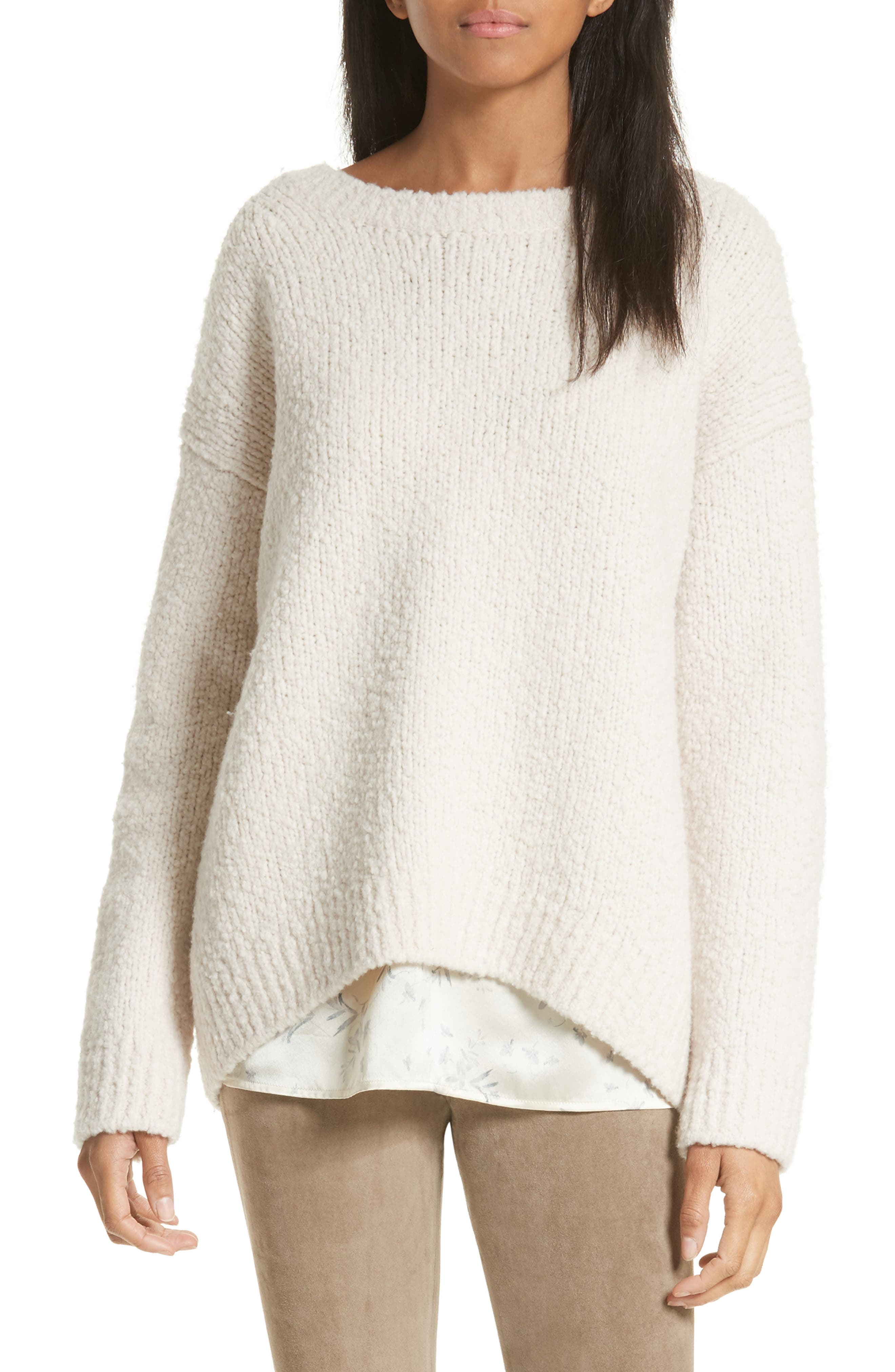 Vince Textured Wool Sweater