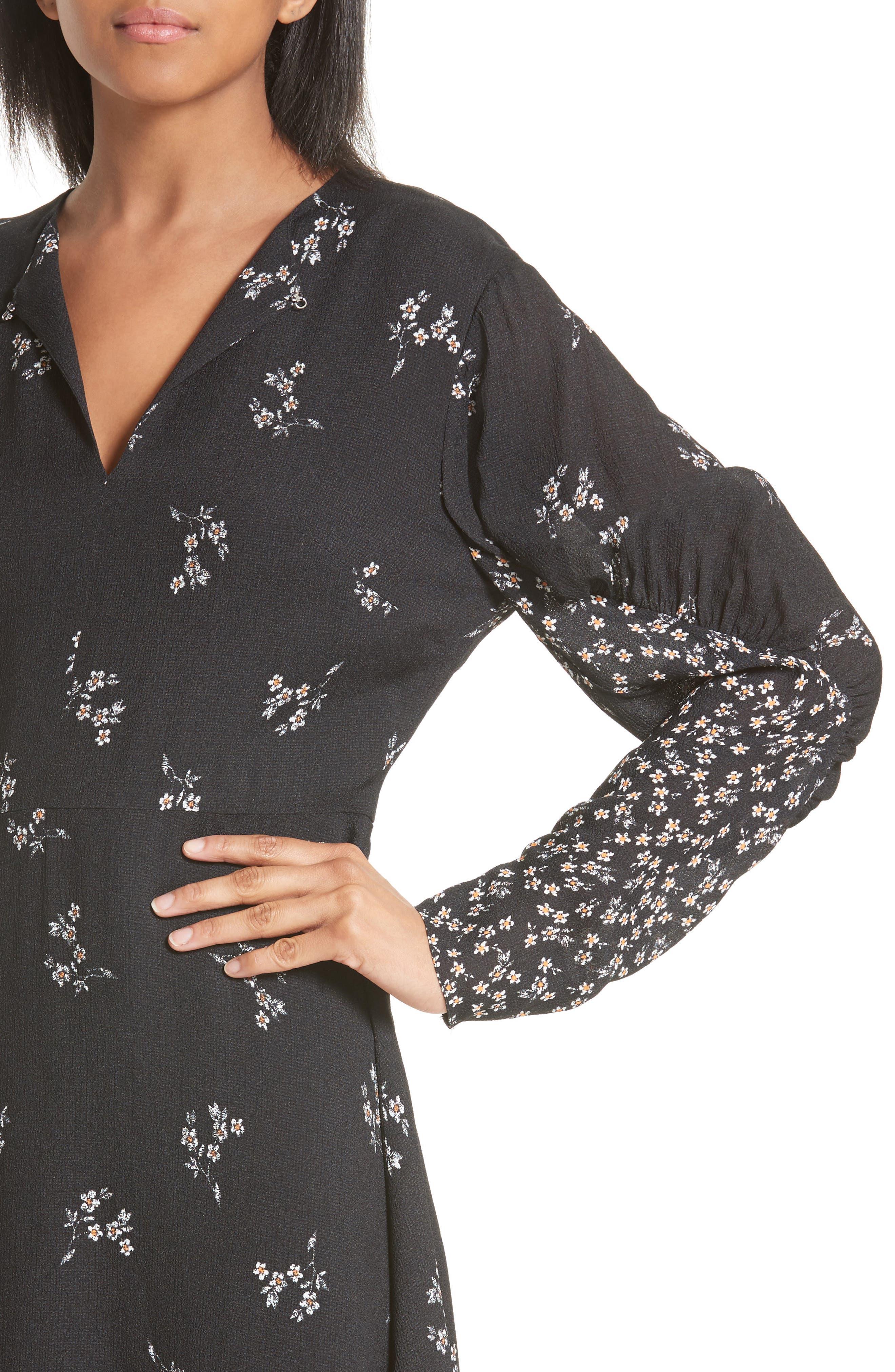 Alternate Image 4  - Tibi Lila Floral A-Line Dress