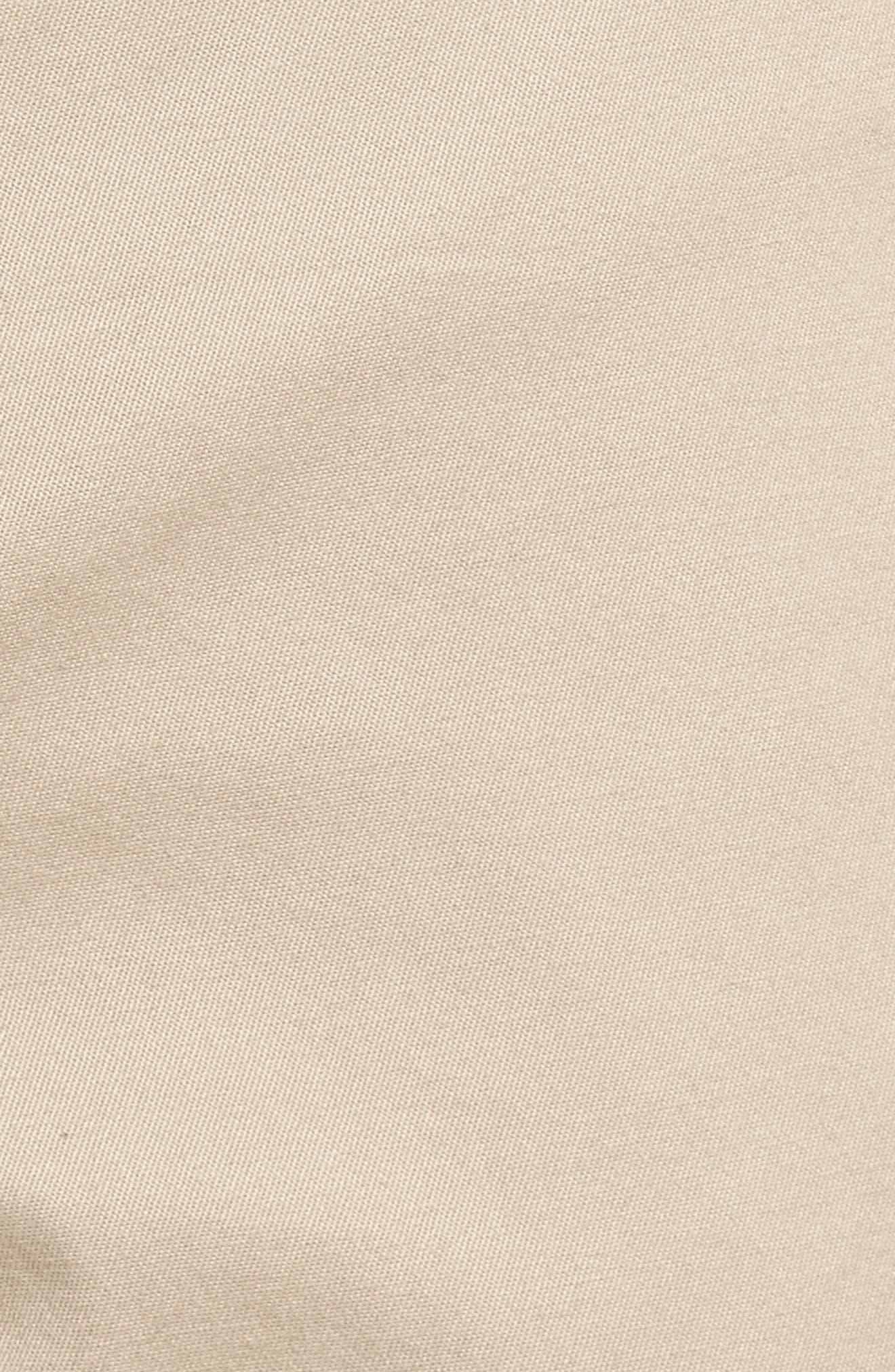 9 Inch Stretch Breaker Shorts,                             Alternate thumbnail 5, color,                             Khaki