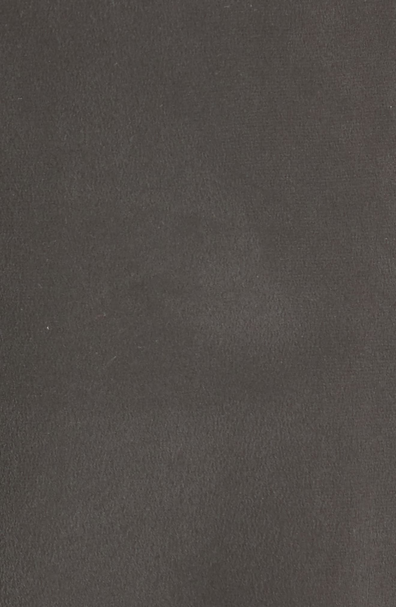 Bevin Silk Crop Cargo Pants,                             Alternate thumbnail 5, color,                             Black