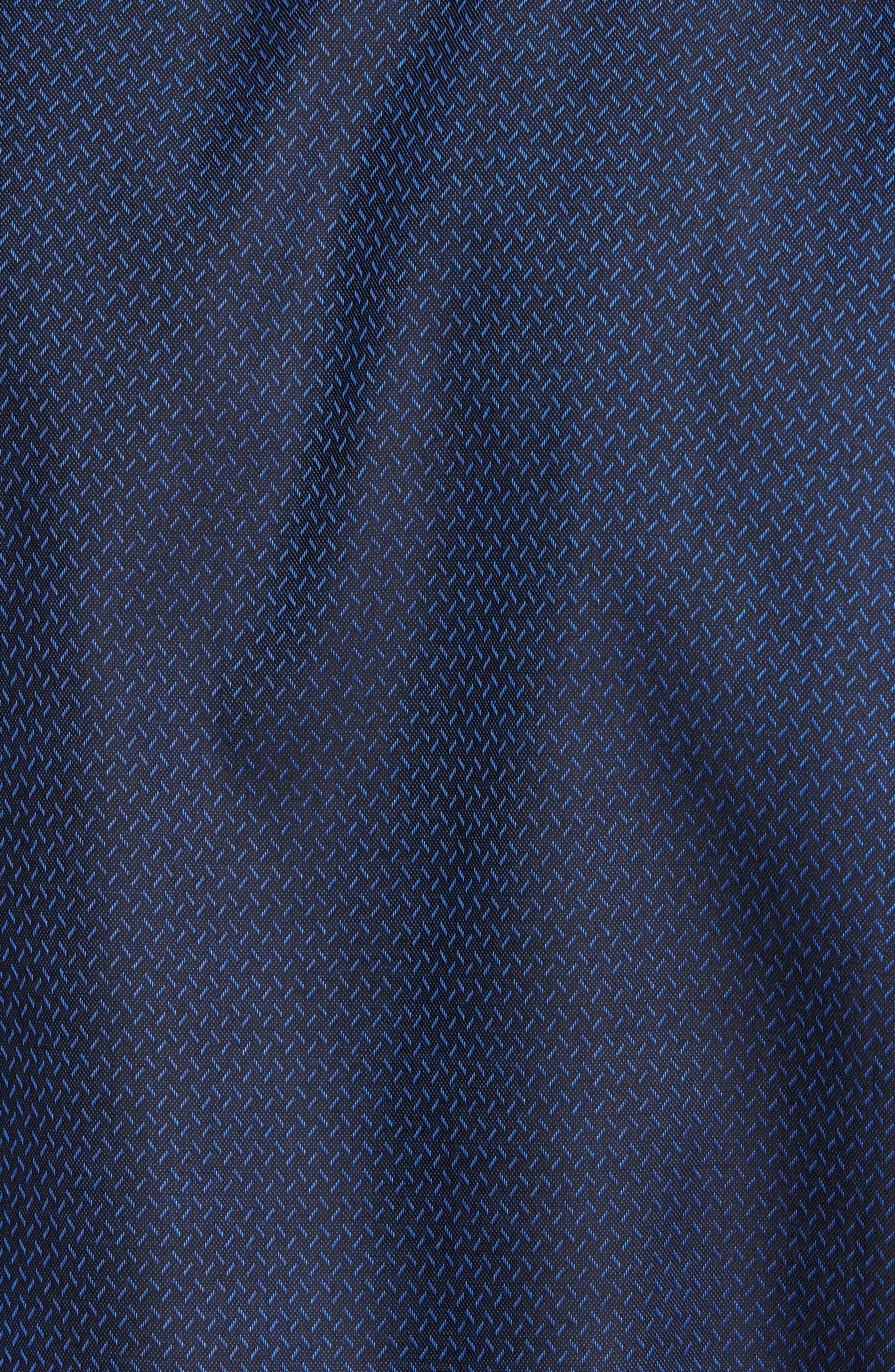 Alternate Image 5  - Jared Lang Trim Fit Print Sport Shirt