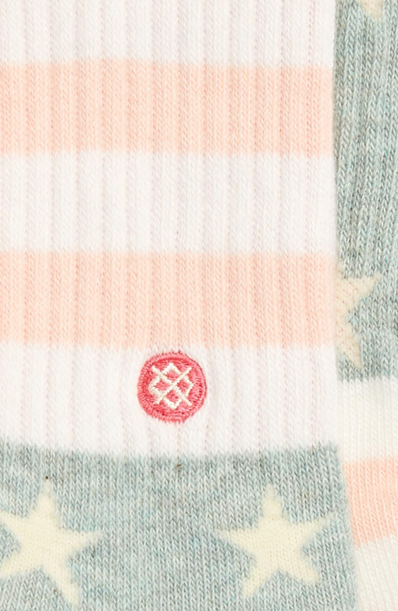 Liberty Socks,                             Alternate thumbnail 2, color,                             Pink Multi