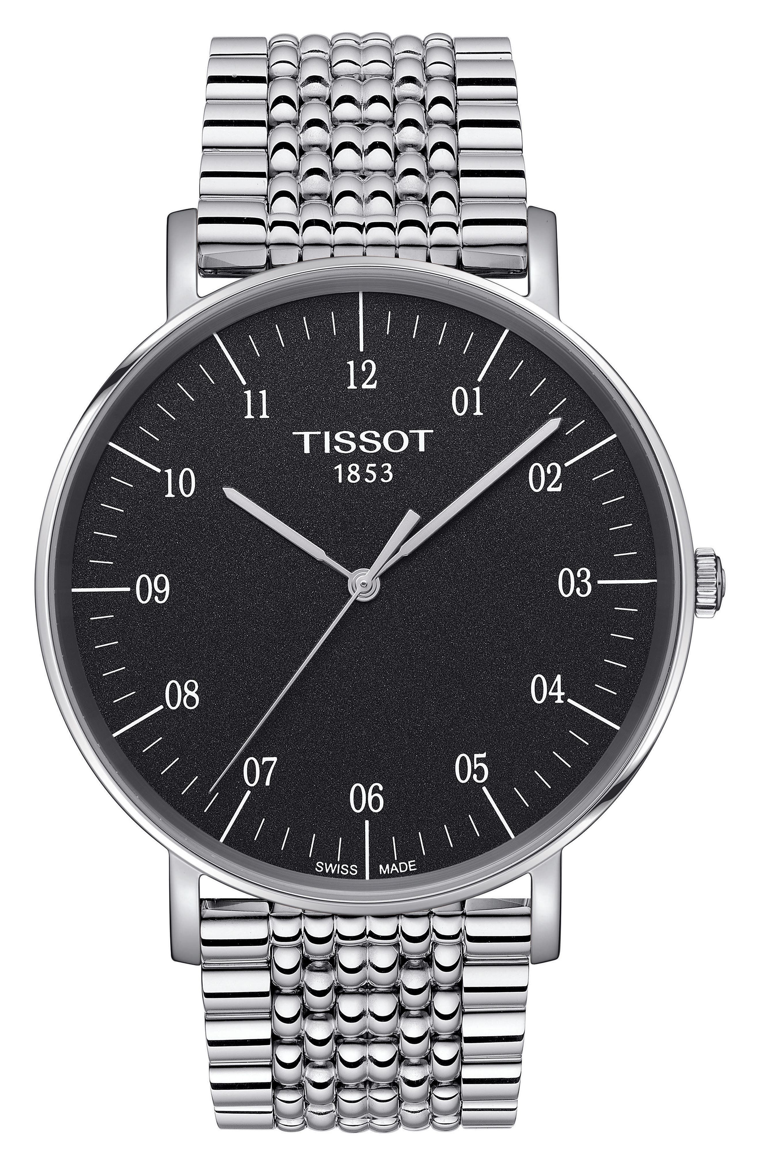 Main Image - Tissot Everytime Bracelet Watch, 42mm