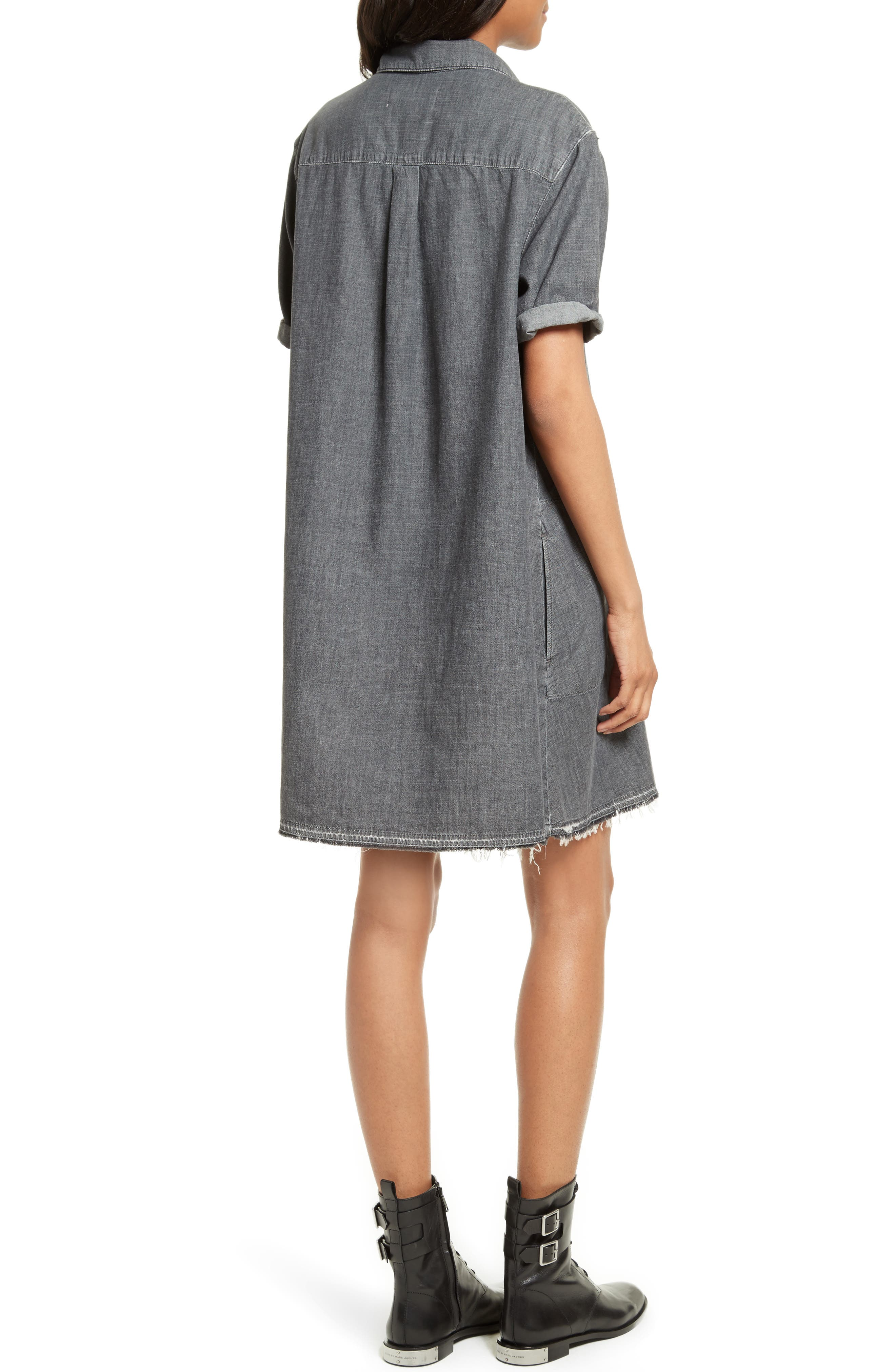 Alternate Image 2  - THE GREAT. The Bias Shirtdress