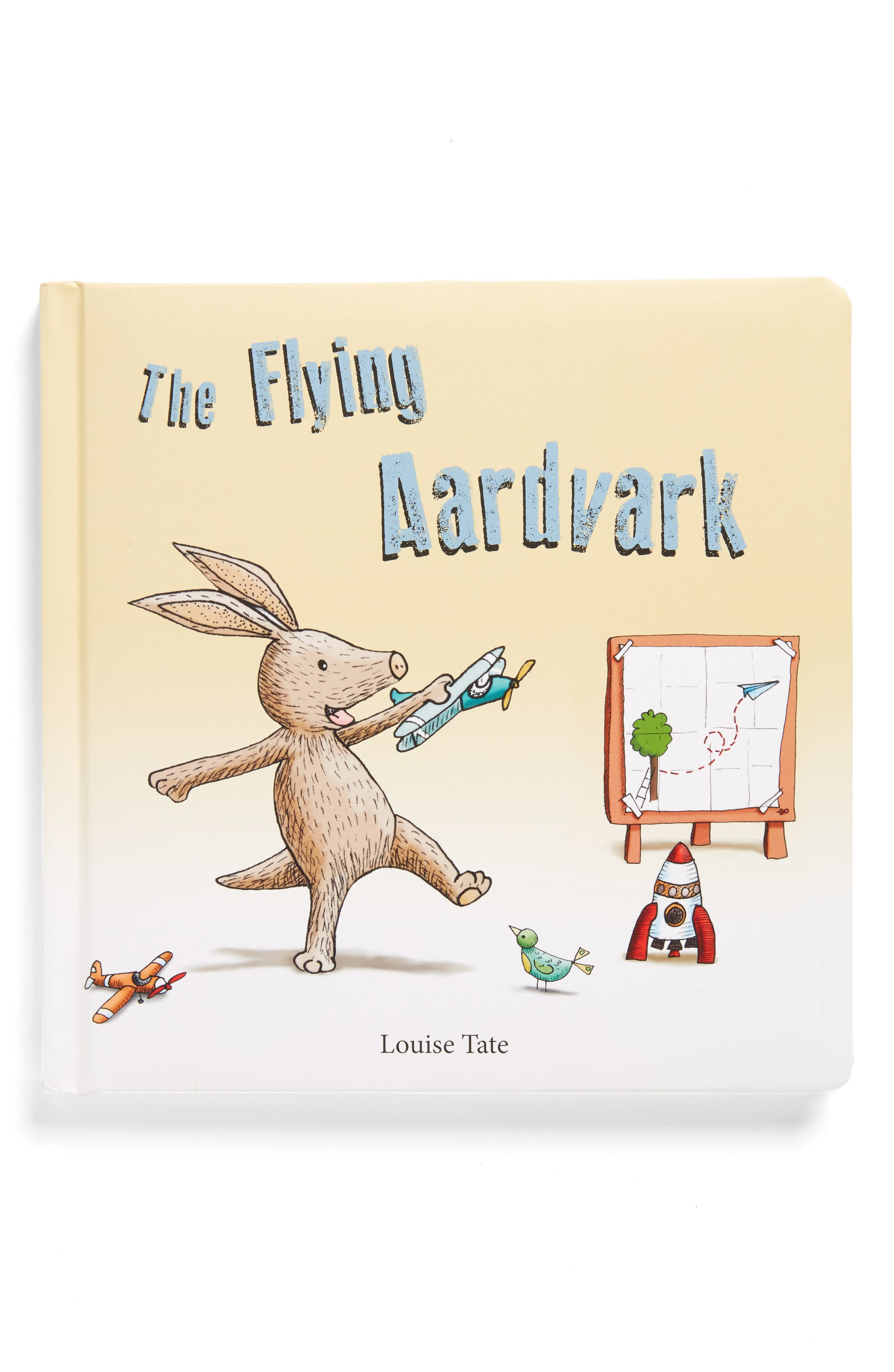 The Flying Aardvark Board Book,                         Main,                         color, Yellow Multi