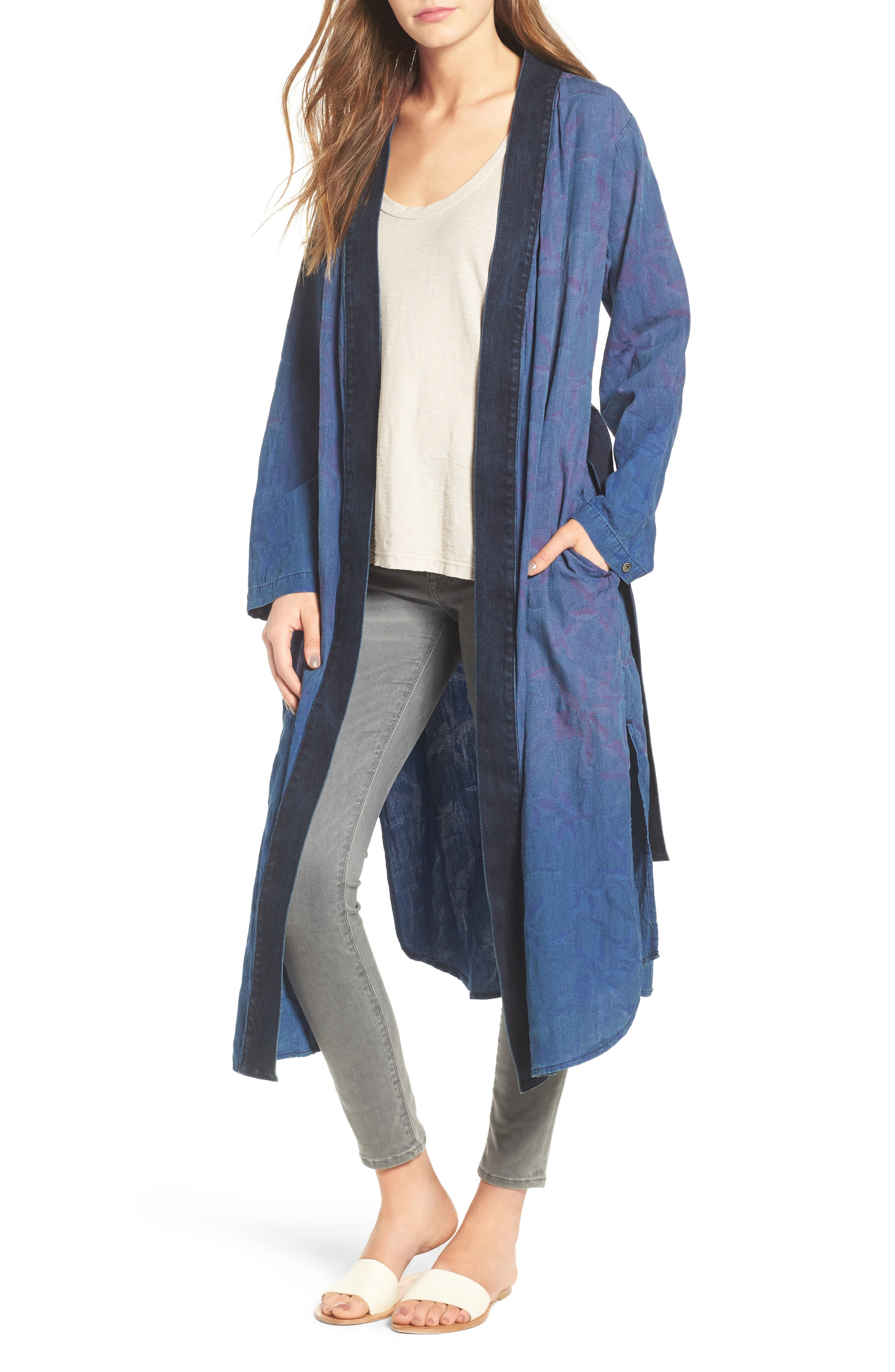 Hudson Jeans Aoki Cotton Kimono