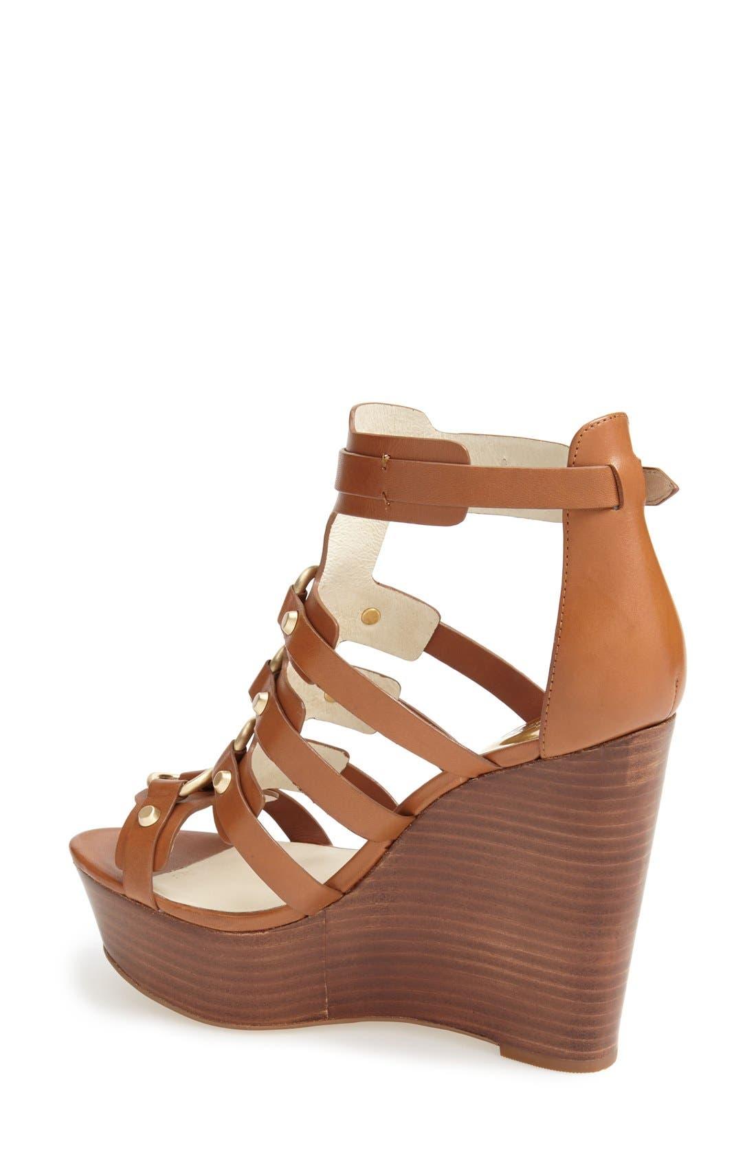 Alternate Image 2  - MICHAEL Michael Kors 'Nadine' Platform Wedge Sandal (Women)