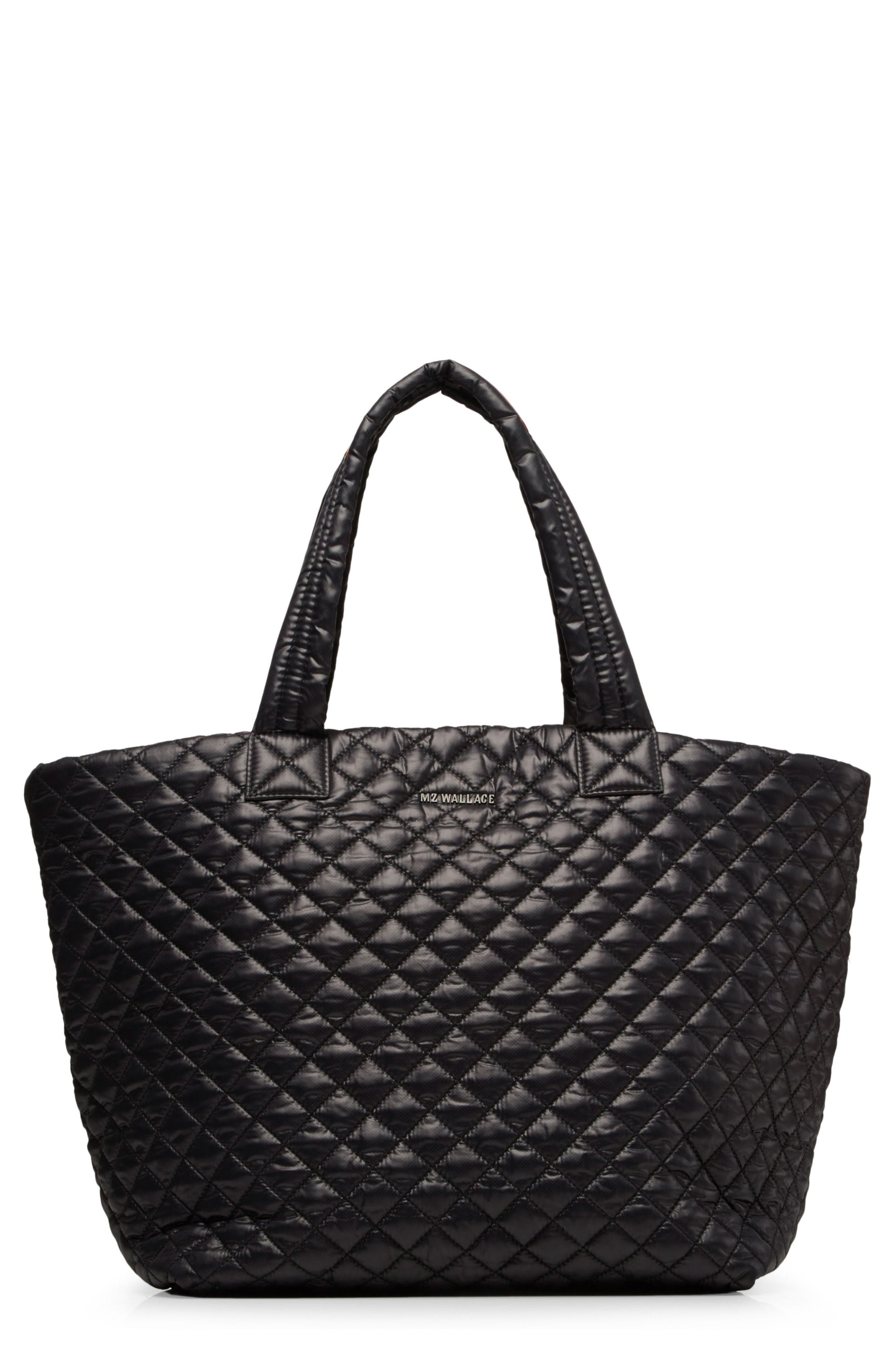 MZ Wallace 'Large Metro' Quilted Oxford Nylon Tote