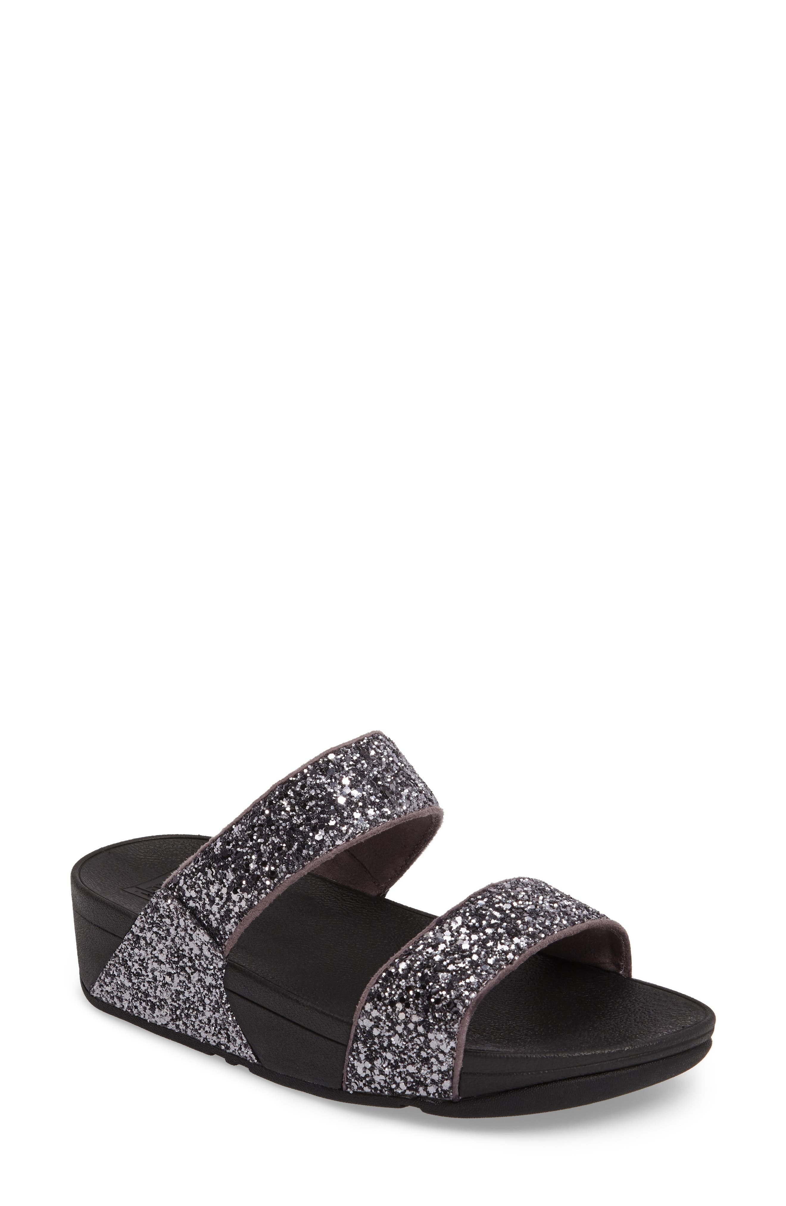 Main Image - FitFlop Glitterball Slide Sandal