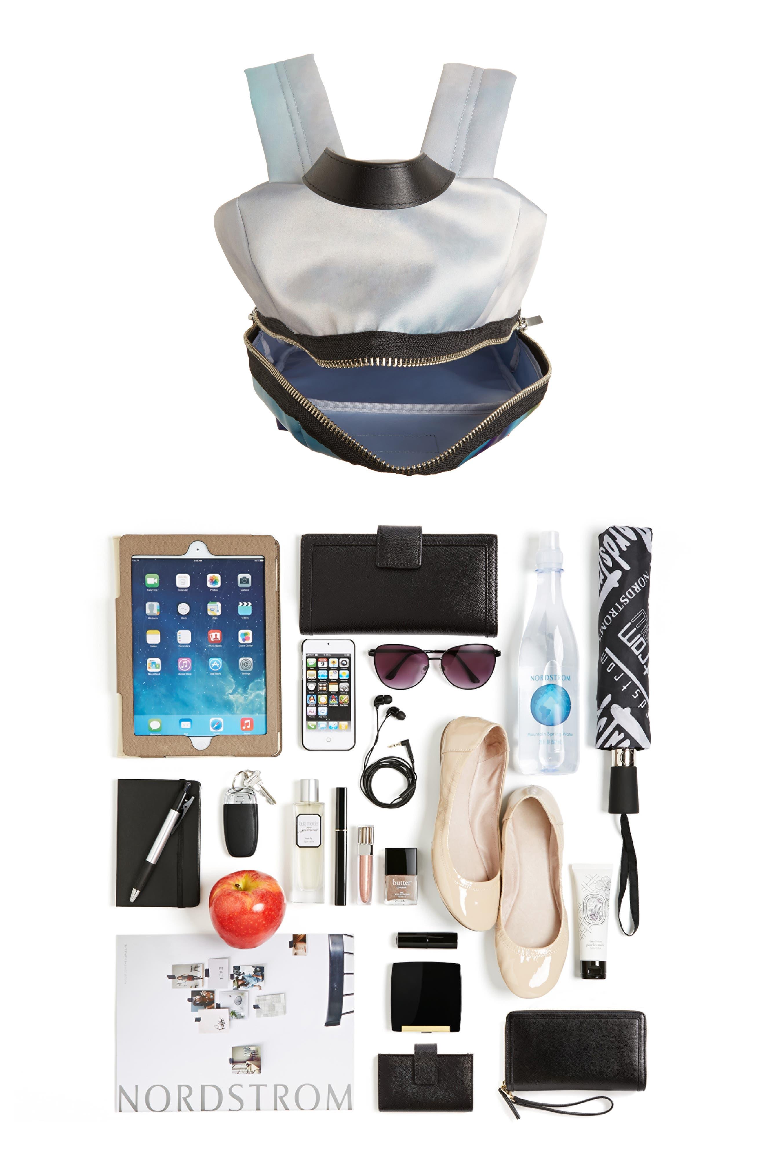 Alternate Image 7  - MARC JACOBS Biker Rainbow Print Backpack