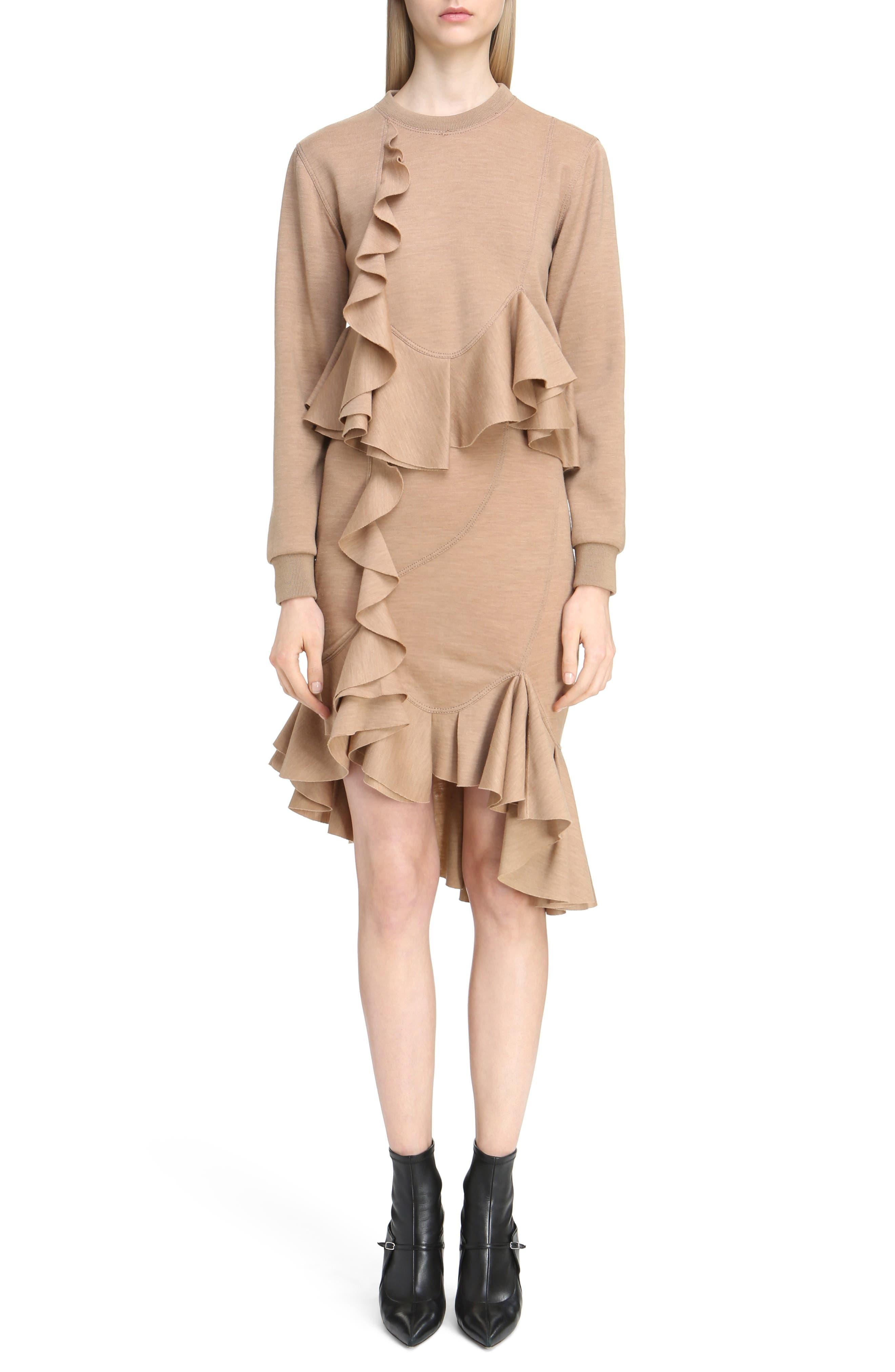 Alternate Image 6  - Givenchy Ruffled Wool Sweatshirt