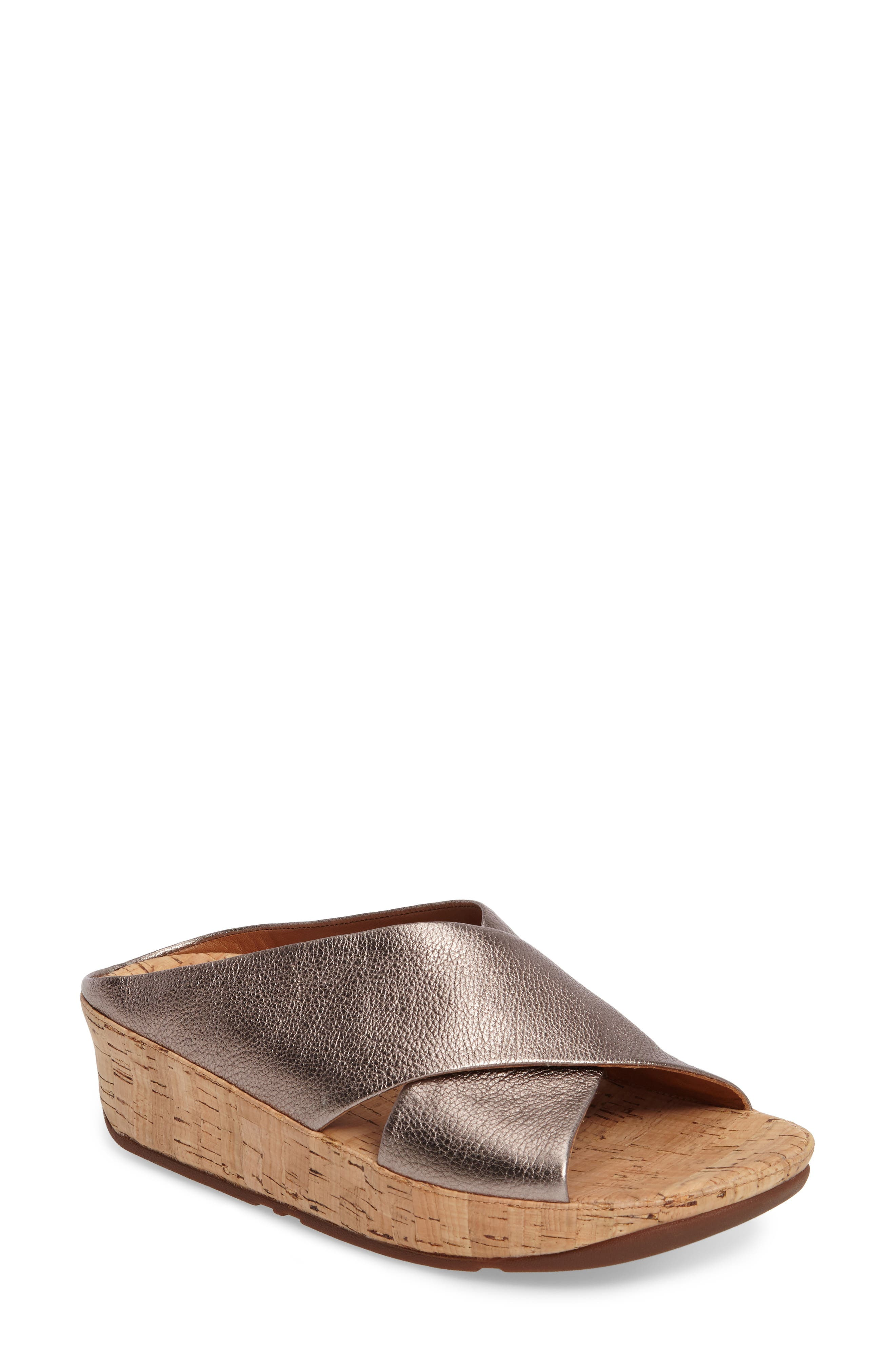FitFlop™ Kys Backless Platform Wedge (Women)