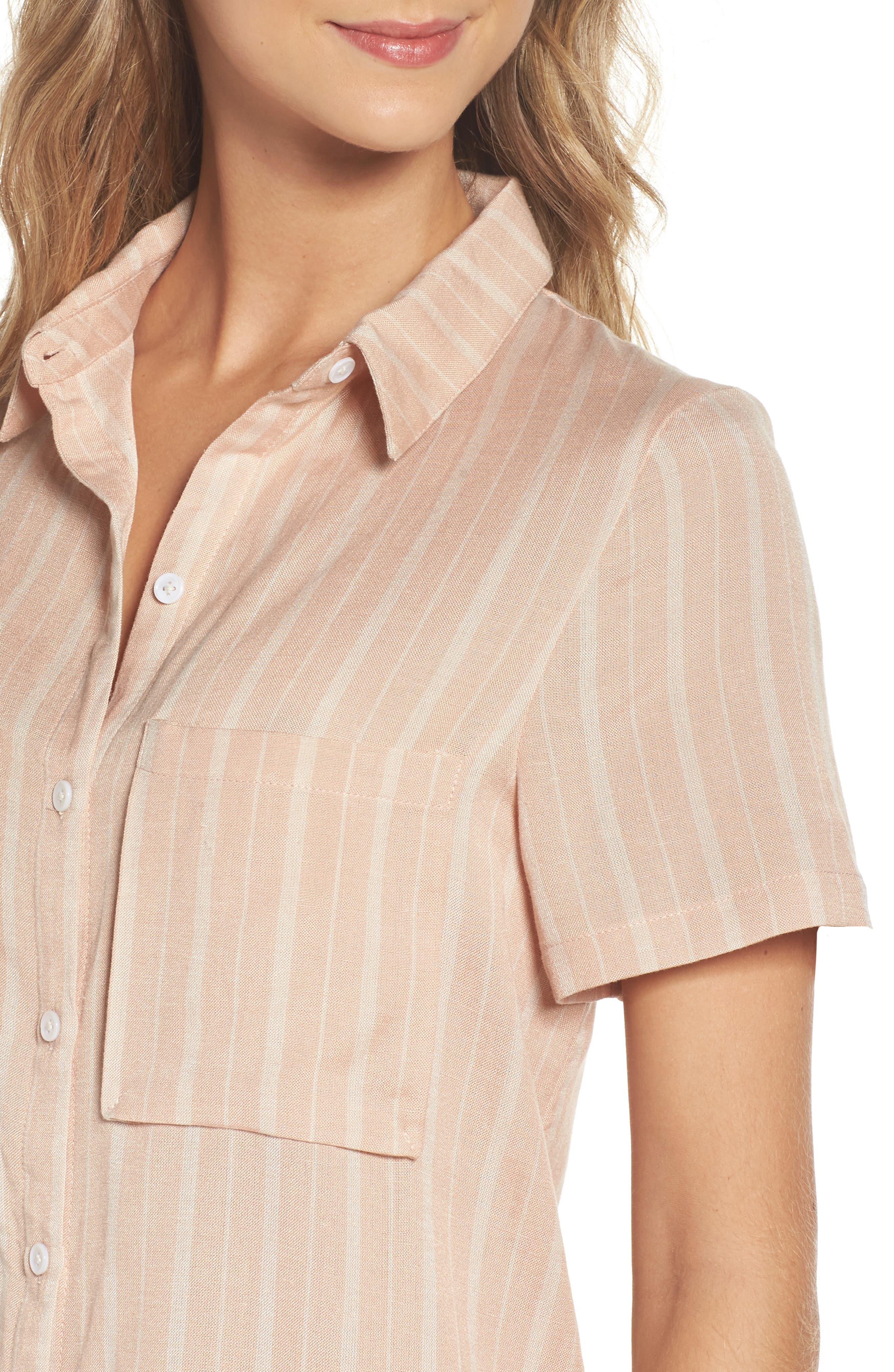 Alternate Image 4  - Knot Sisters Laguna Midi Shirtdress