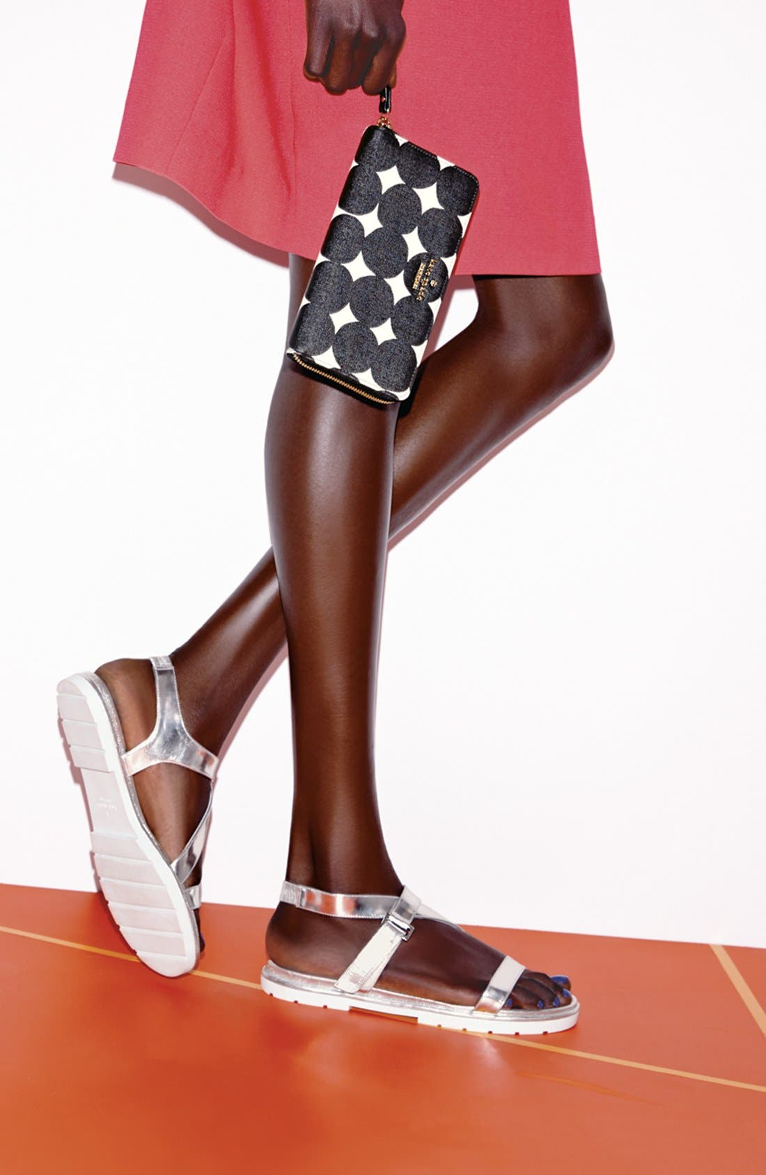 Alternate Image 3  - kate spade new york 'mckee' leather sandal (Women)