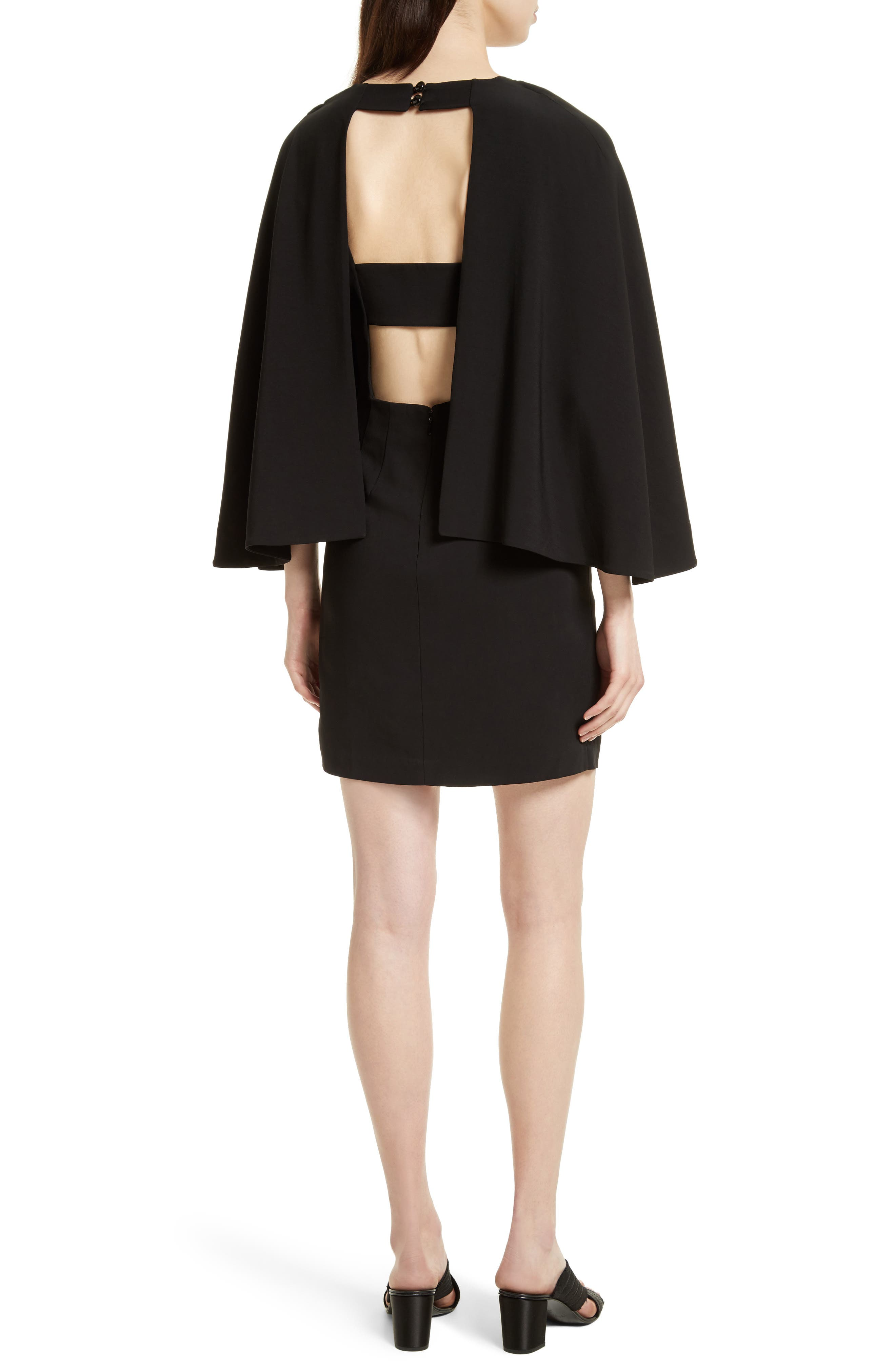 Alternate Image 2  - Tracy Reese Cape Shift Dress