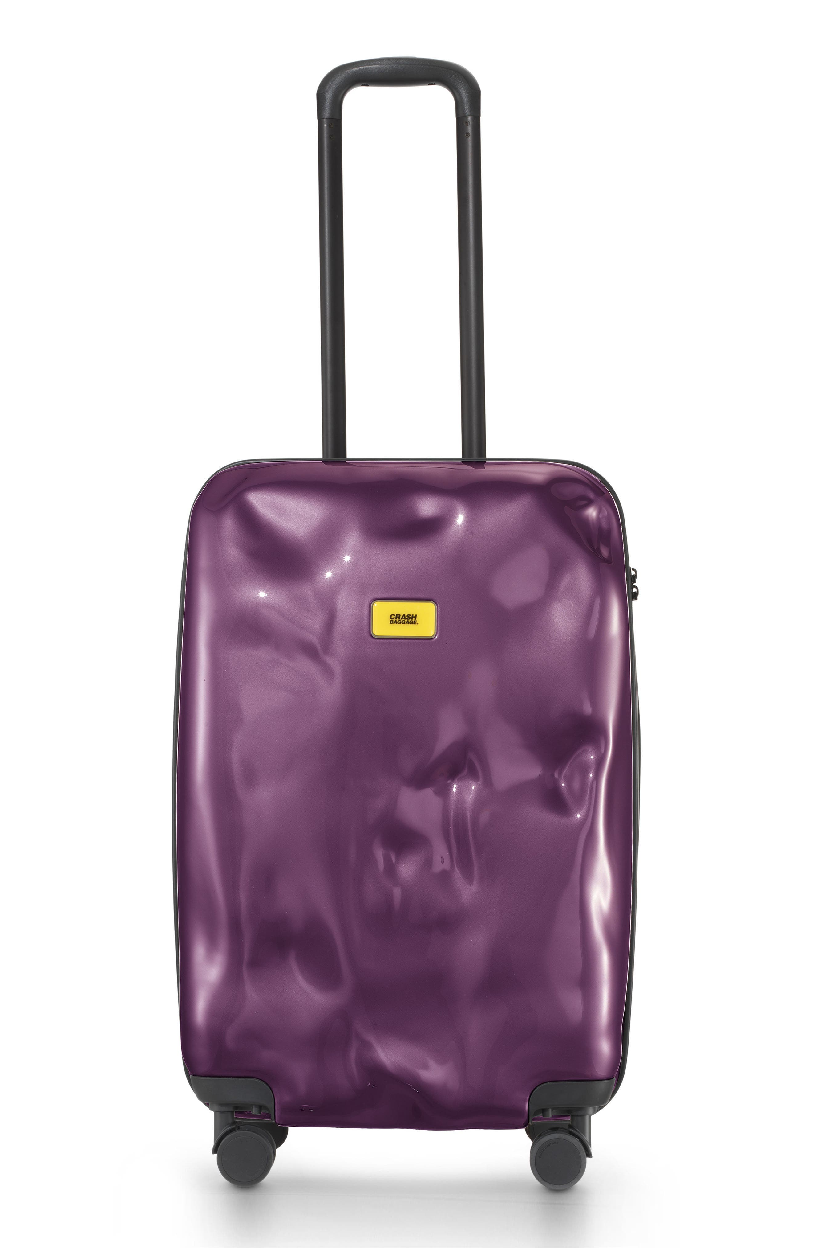 CRASH BAGGAGE Small Bright Cabin Trolley Case