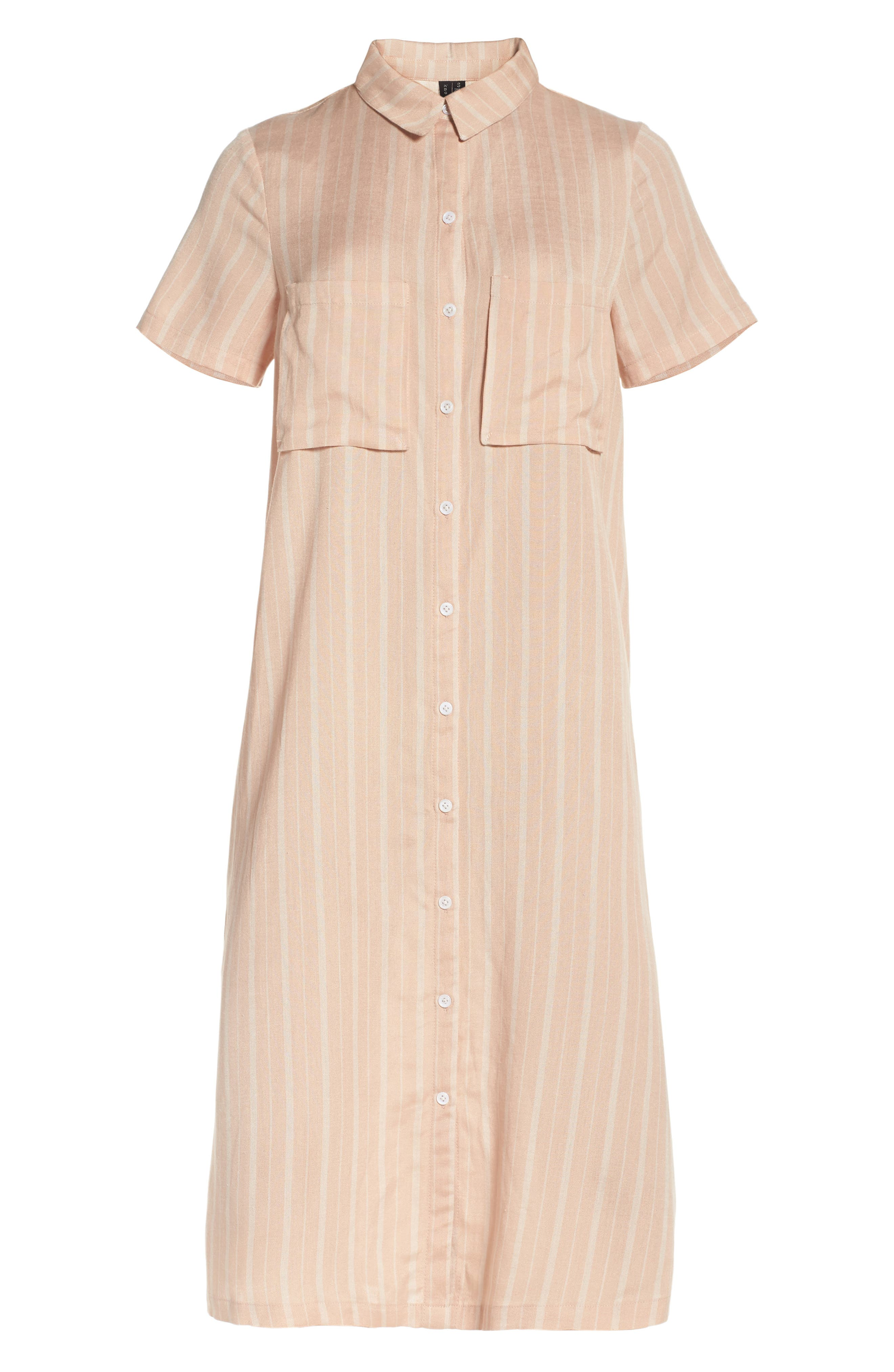 Alternate Image 6  - Knot Sisters Laguna Midi Shirtdress