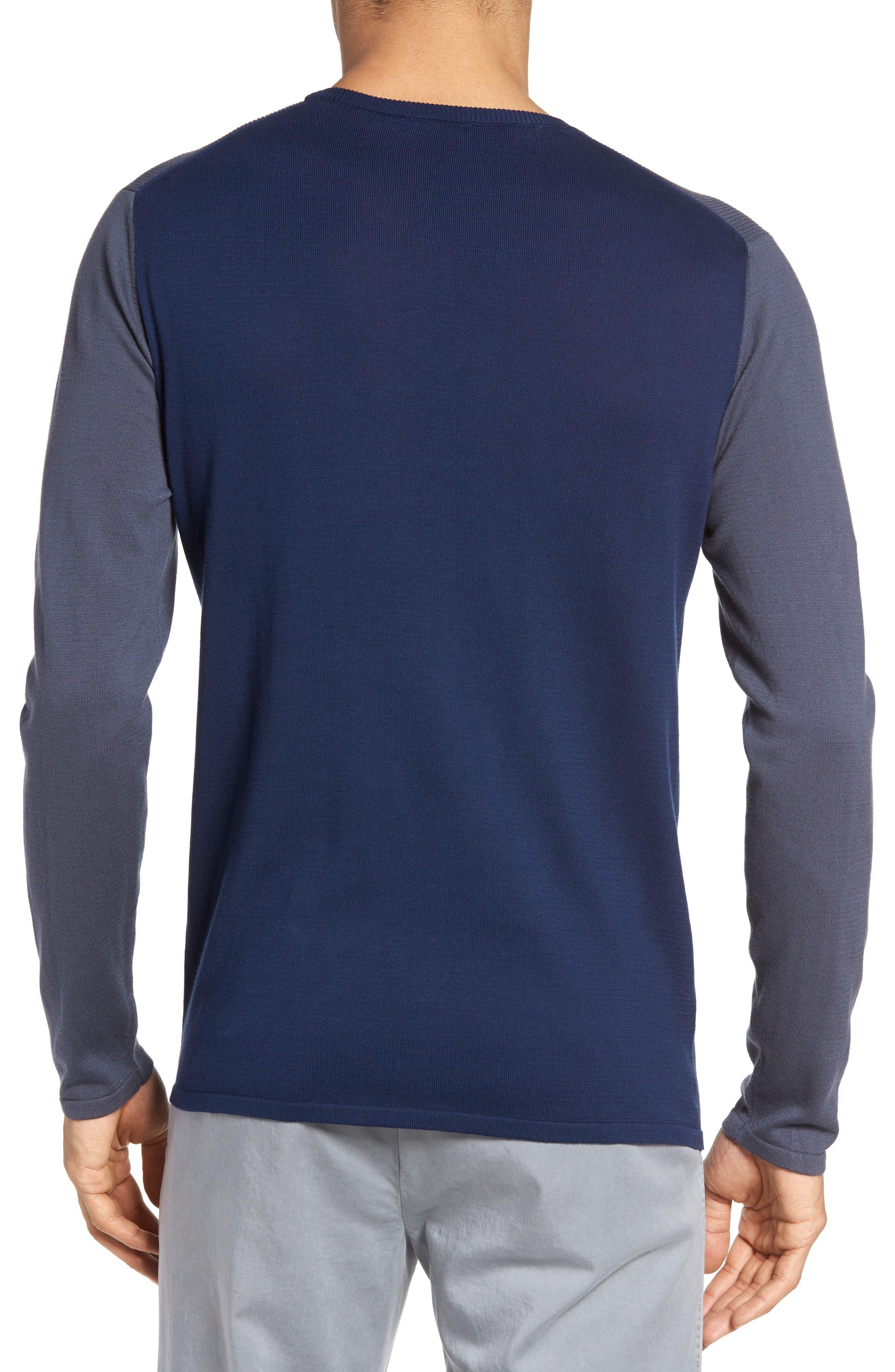 Boxwood Sweater,                             Alternate thumbnail 2, color,                             Ocean