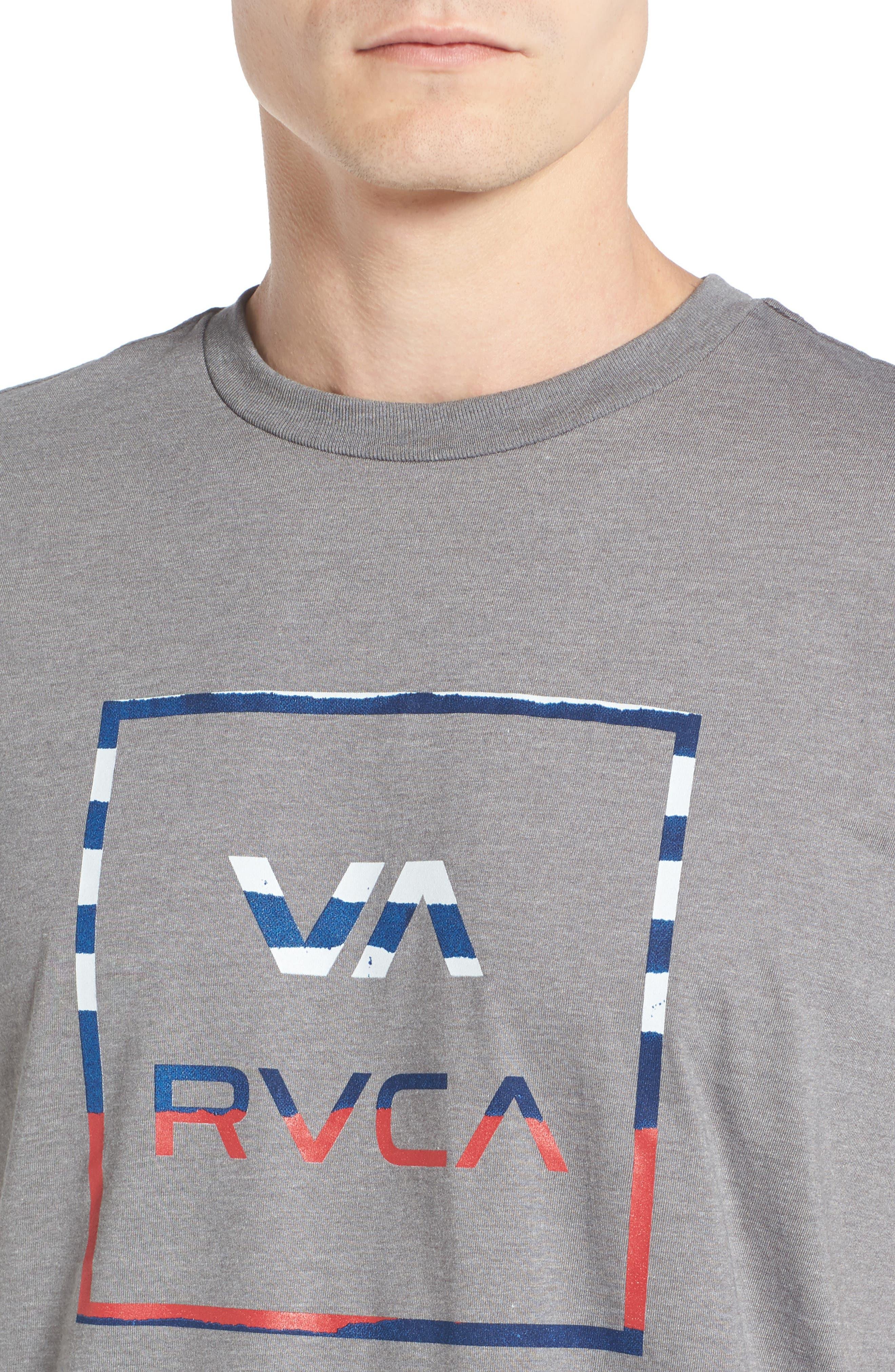 Alternate Image 4  - RVCA VA All The Way Graphic T-Shirt