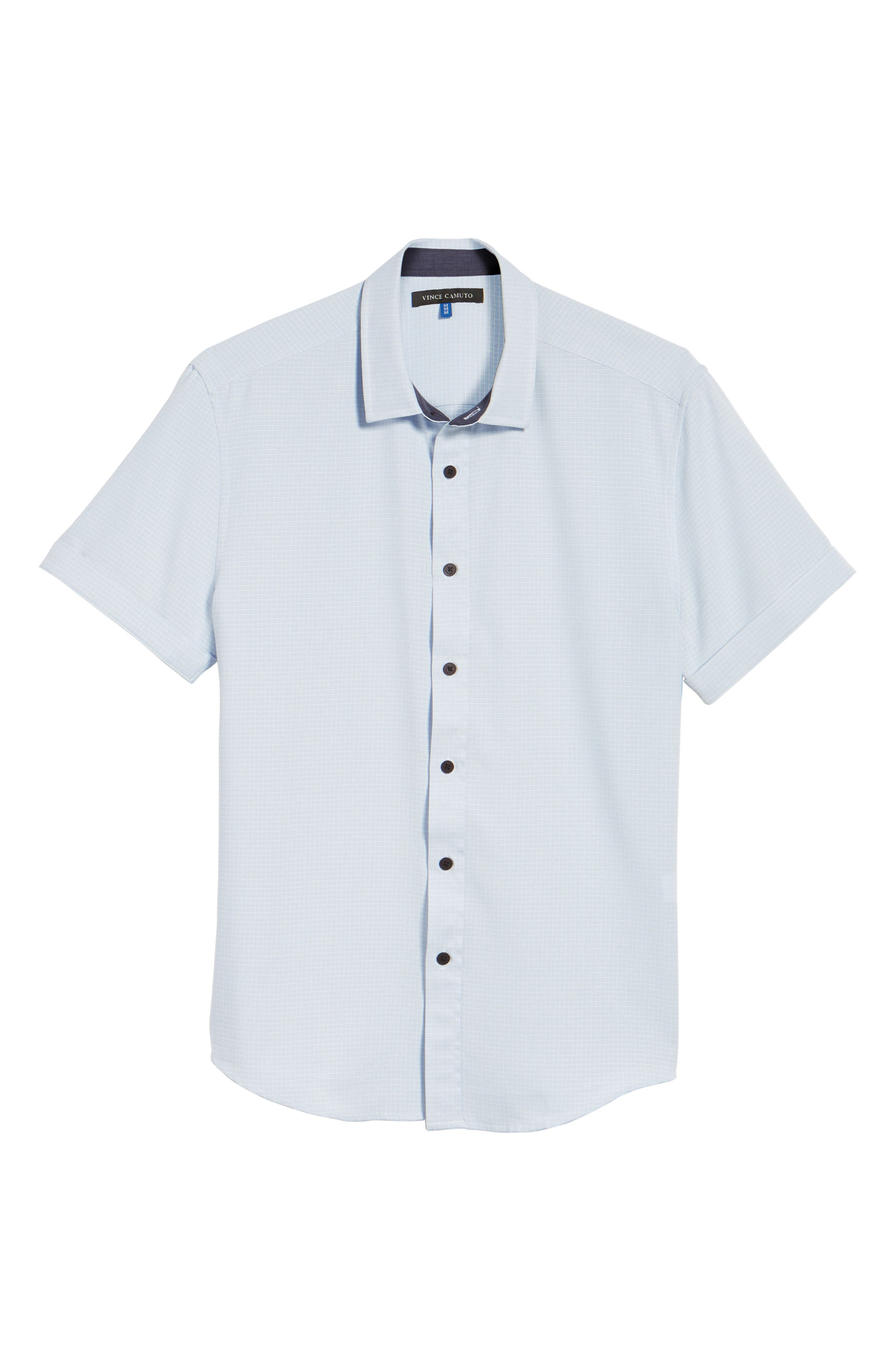 Alternate Image 5  - Vince Camuto Check Sport Shirt