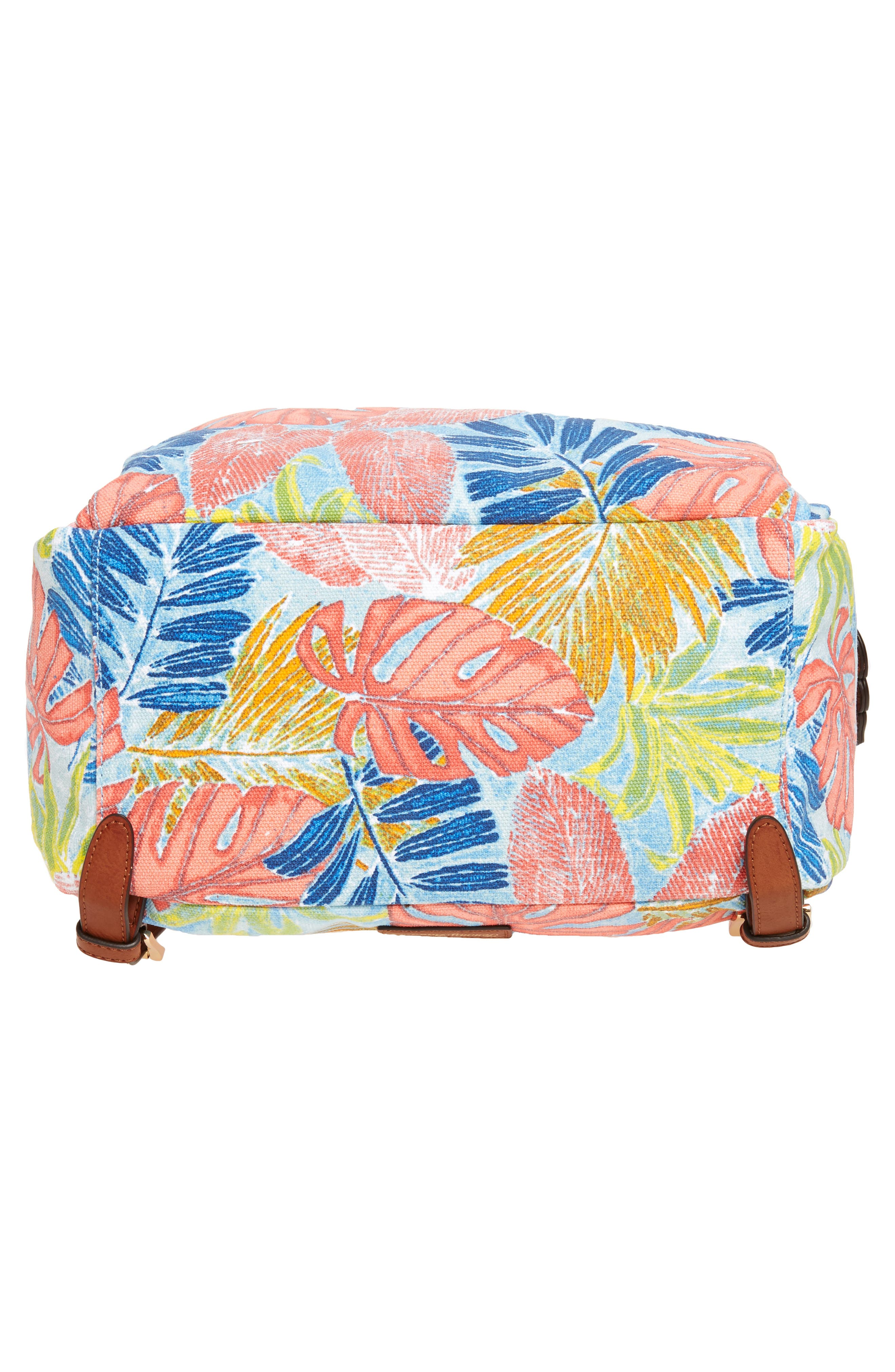 Maui Backpack,                             Alternate thumbnail 6, color,                             Artsy Leaf