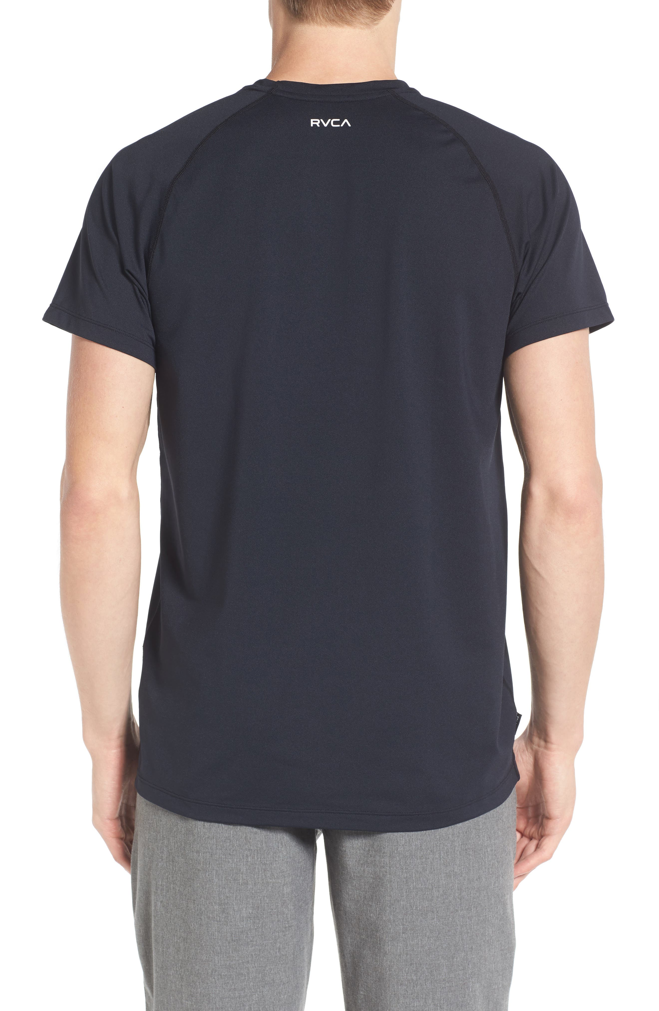 VA All the Way Surf T-Shirt,                             Alternate thumbnail 2, color,                             Black