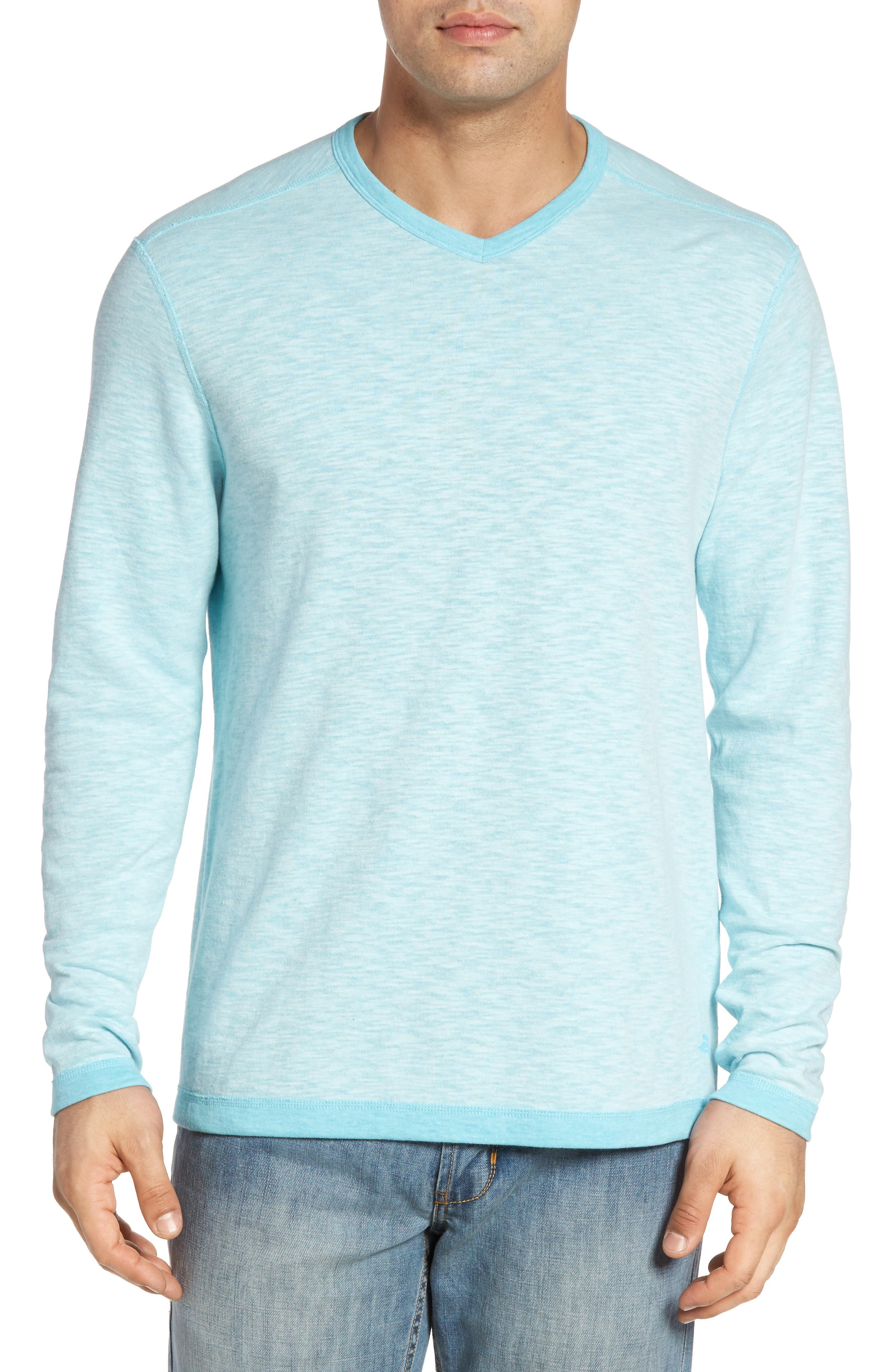 Alternate Image 1 Selected - Tommy Bahama Seaglass Reversible T-Shirt