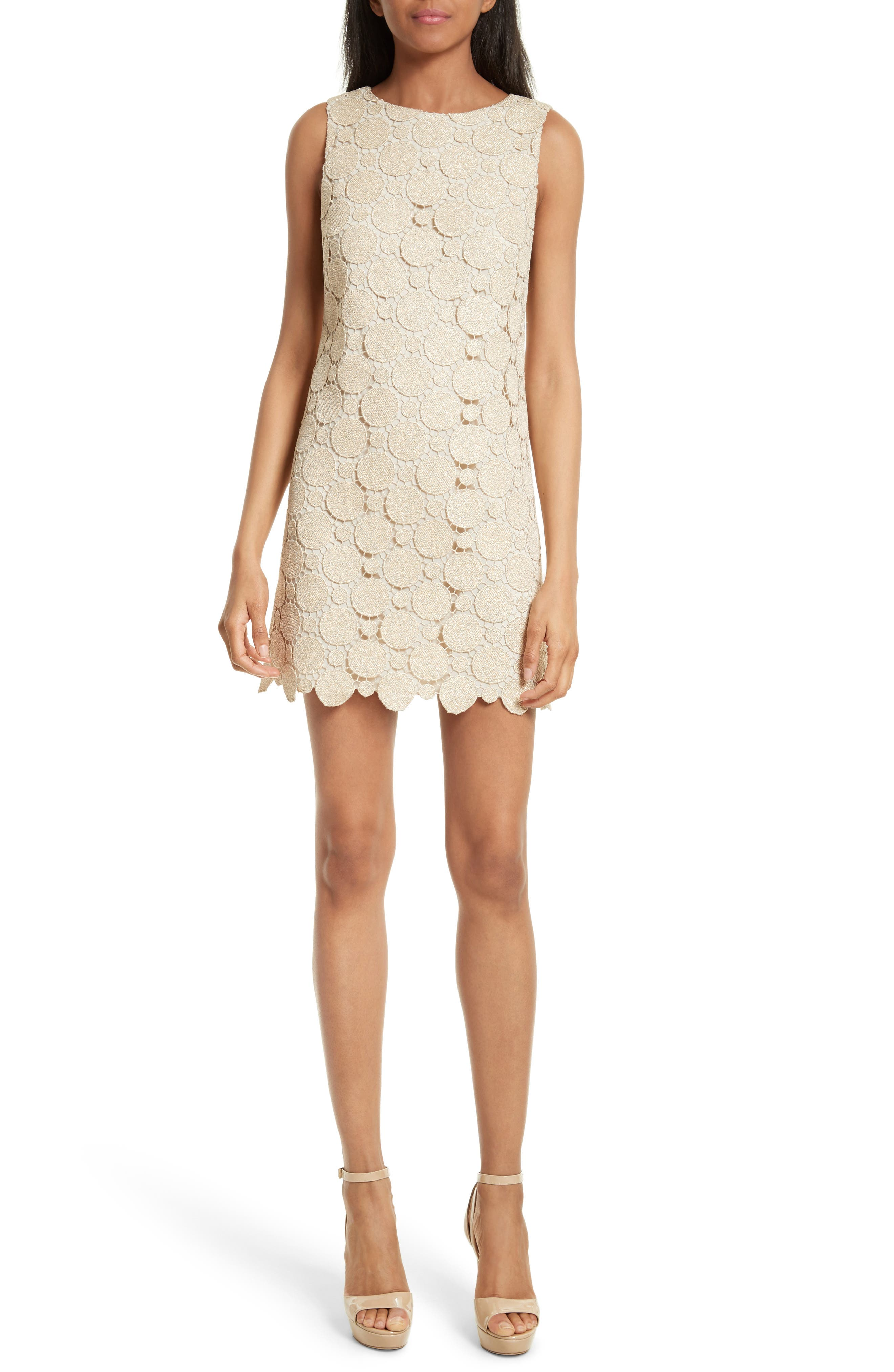 Womens alice olivia dresses nordstrom alice olivia clyde dot lace shift dress ombrellifo Images