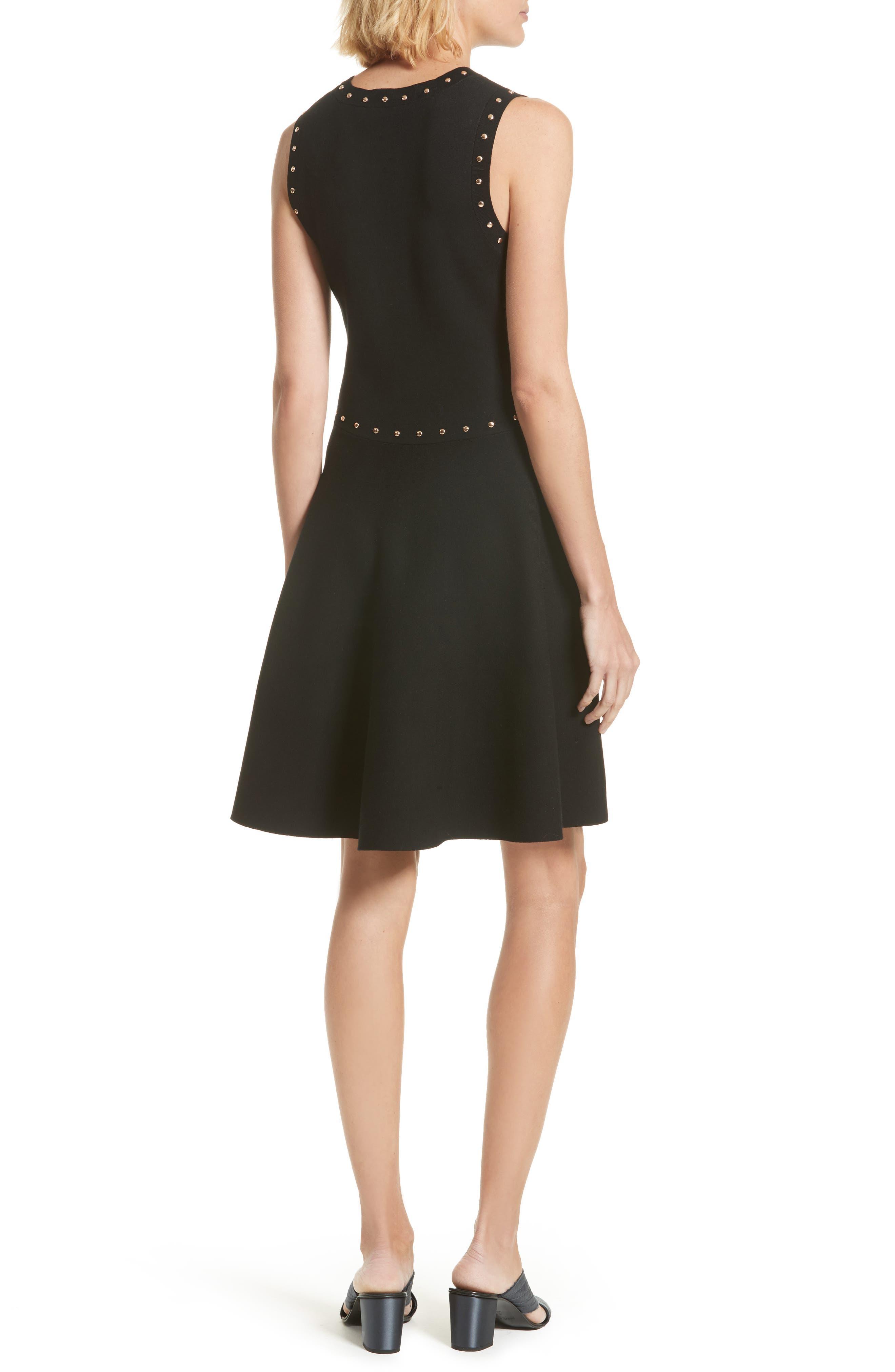 Alternate Image 2  - kate spade new york studded fit & flare dress