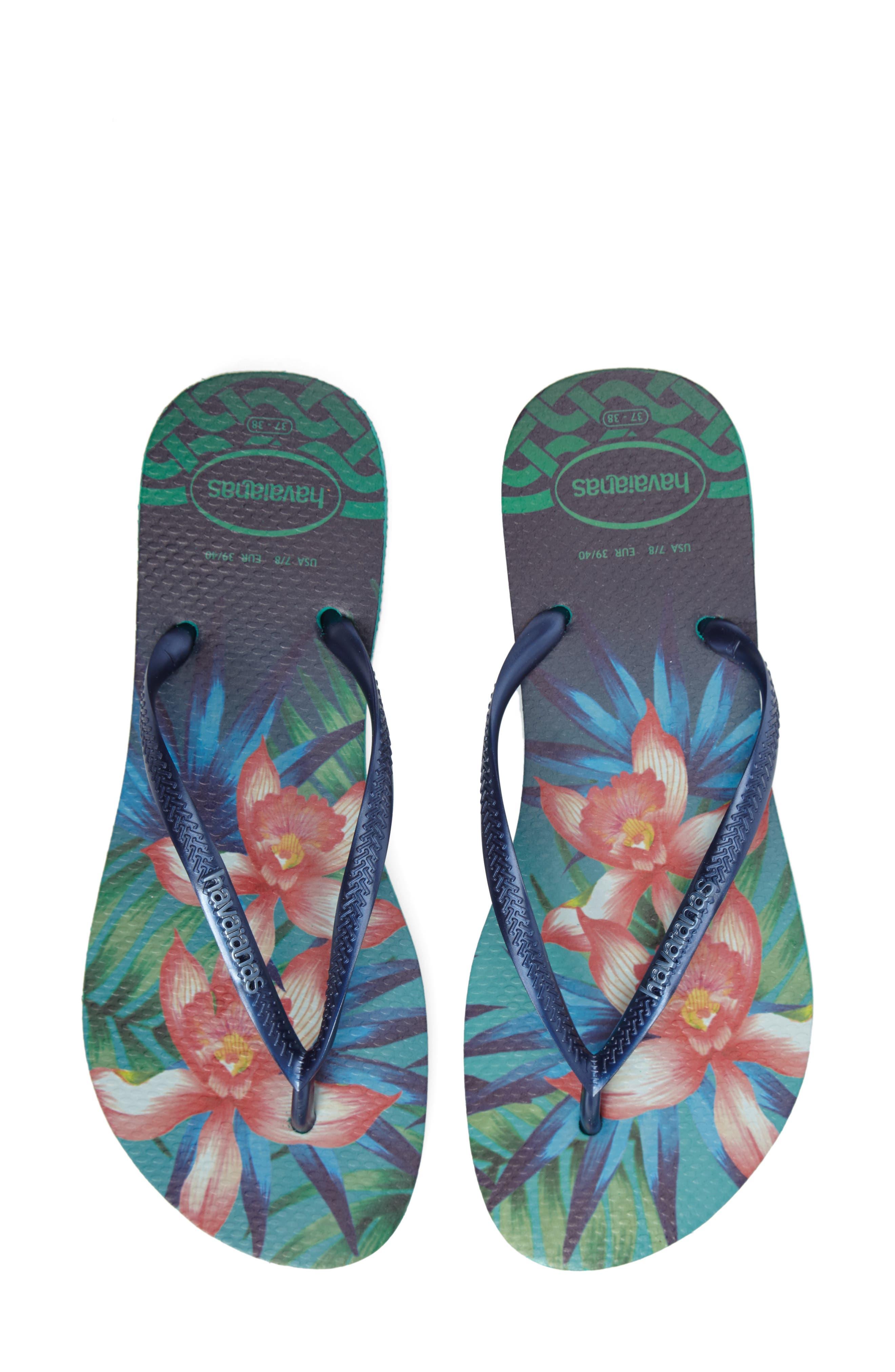 Alternate Image 1 Selected - Havaianas 'Slim Tropical' Flip Flop (Women)