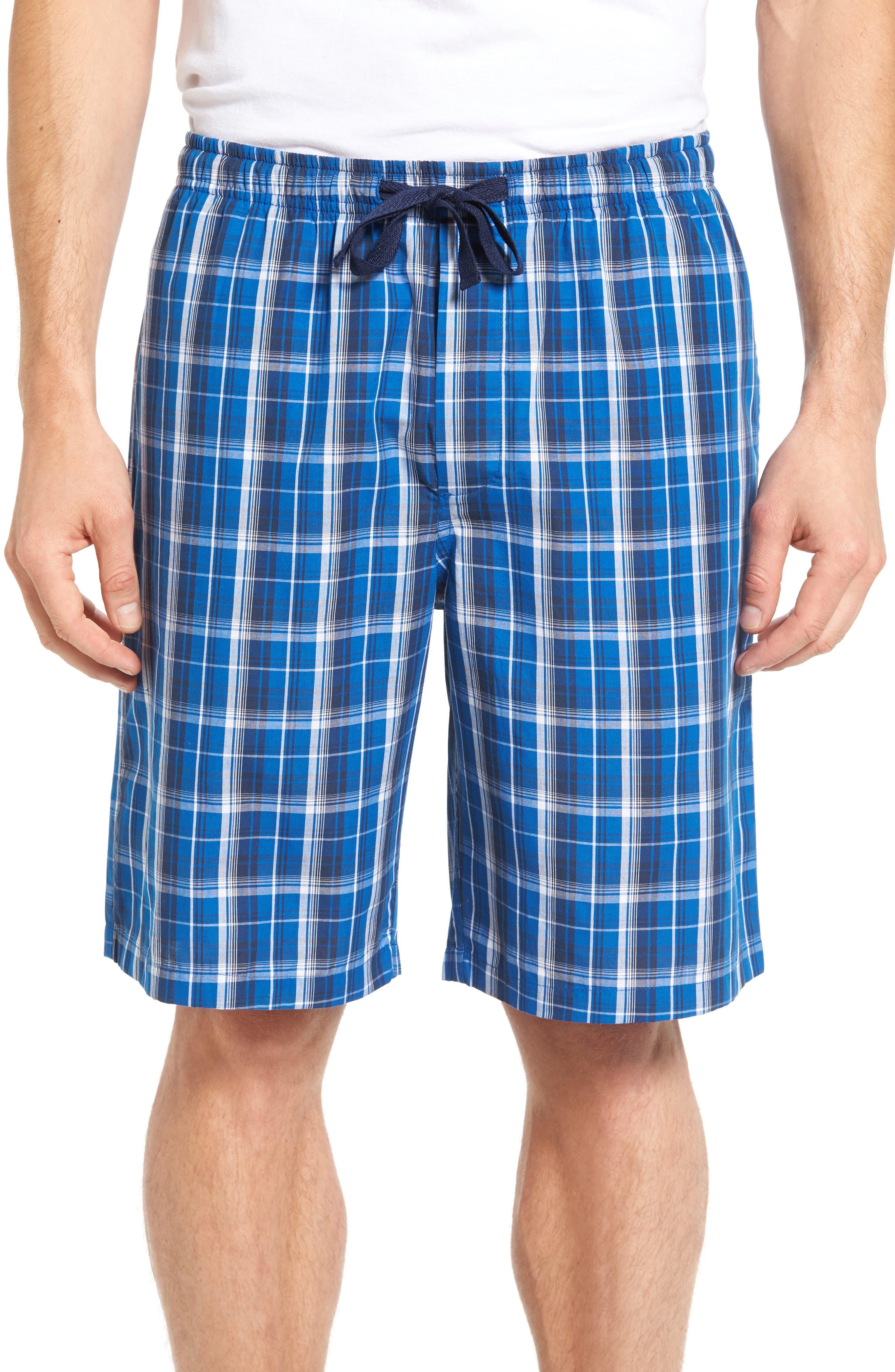 NORDSTROM MENS SHOP Poplin Lounge Shorts