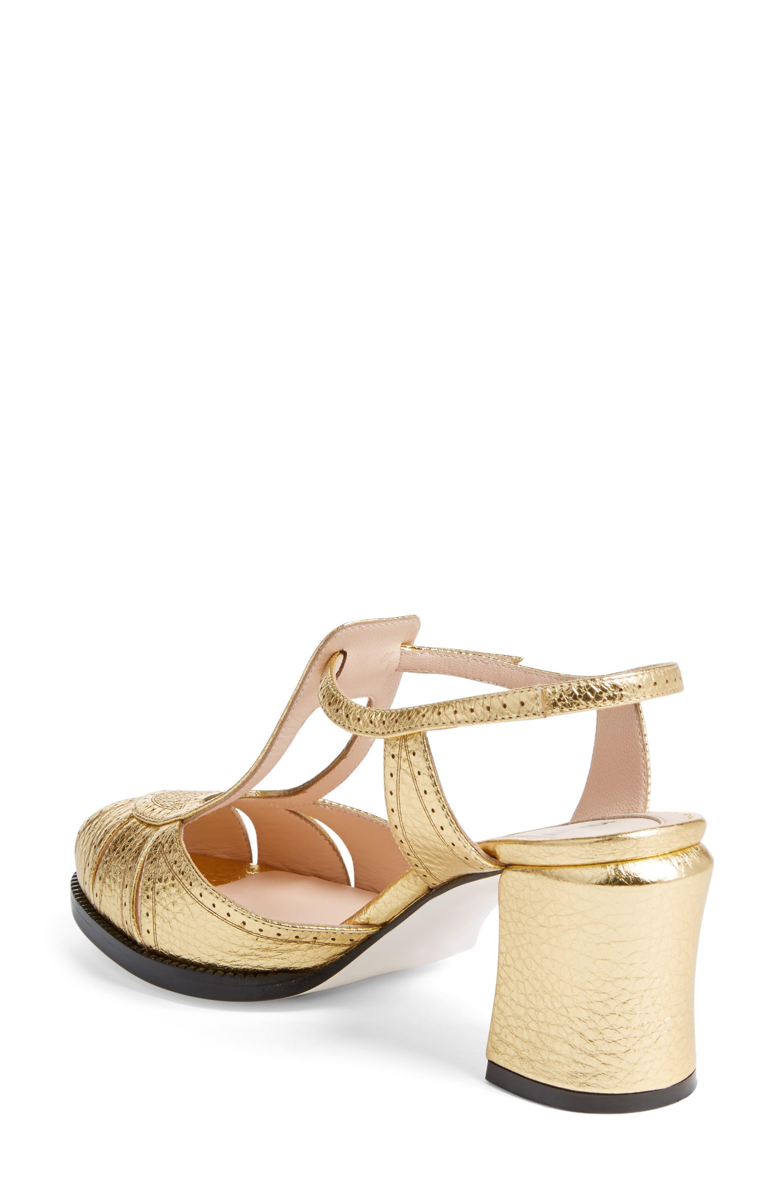 Alternate Image 2  - Fendi Chameleon Leather Sandal (Women)