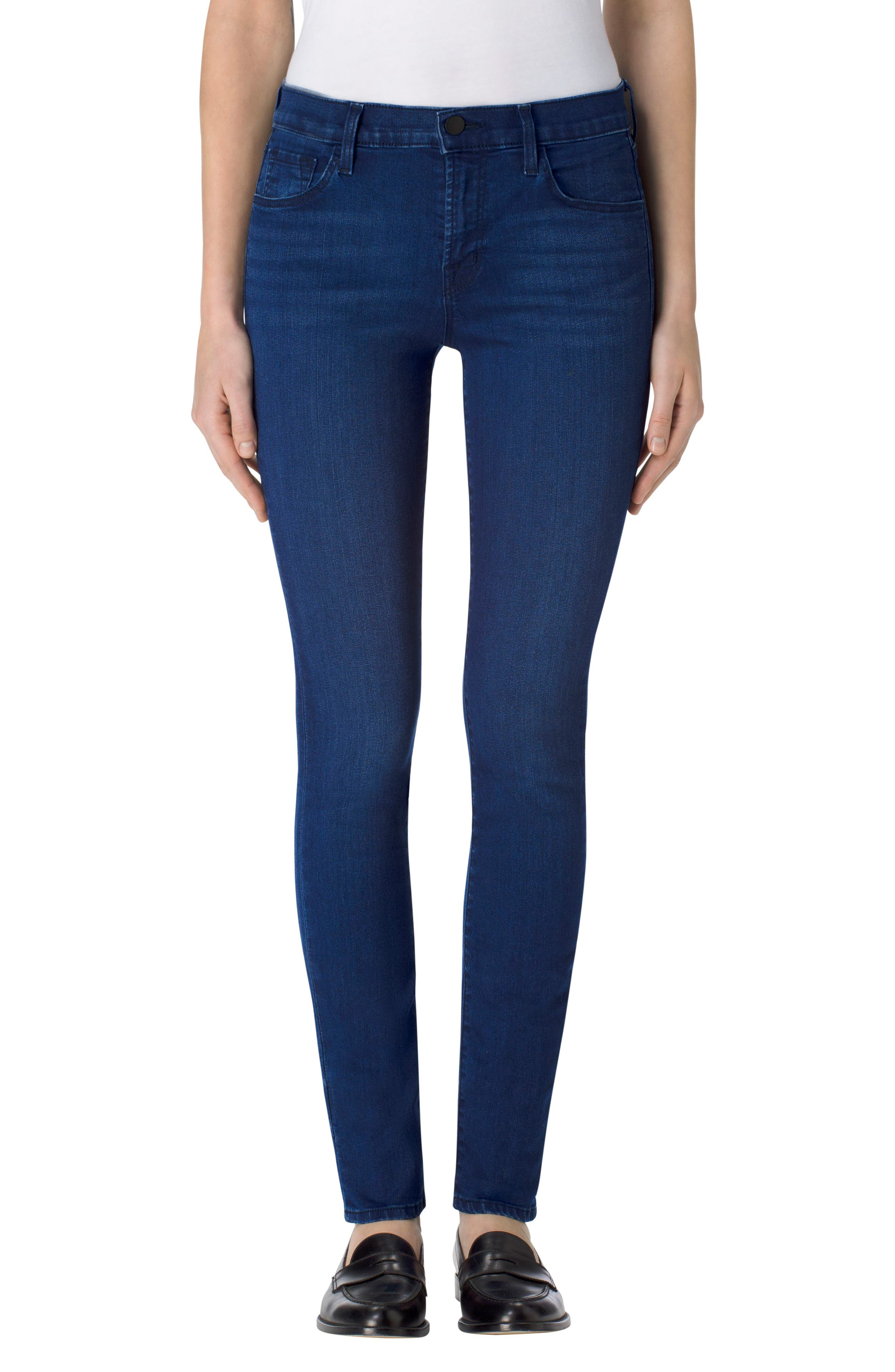 '811' Ankle Skinny Jeans,                             Main thumbnail 1, color,                             Sway