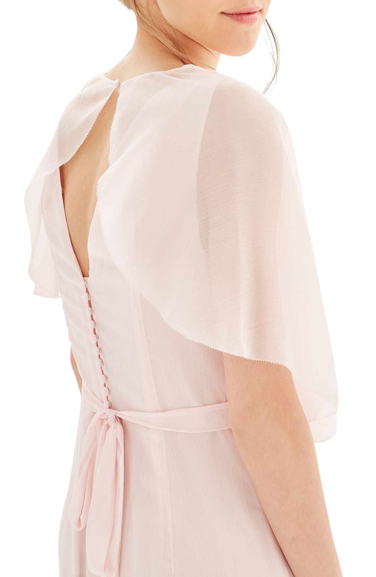 Alternate Image 5  - Topshop Bride Cascade Gown