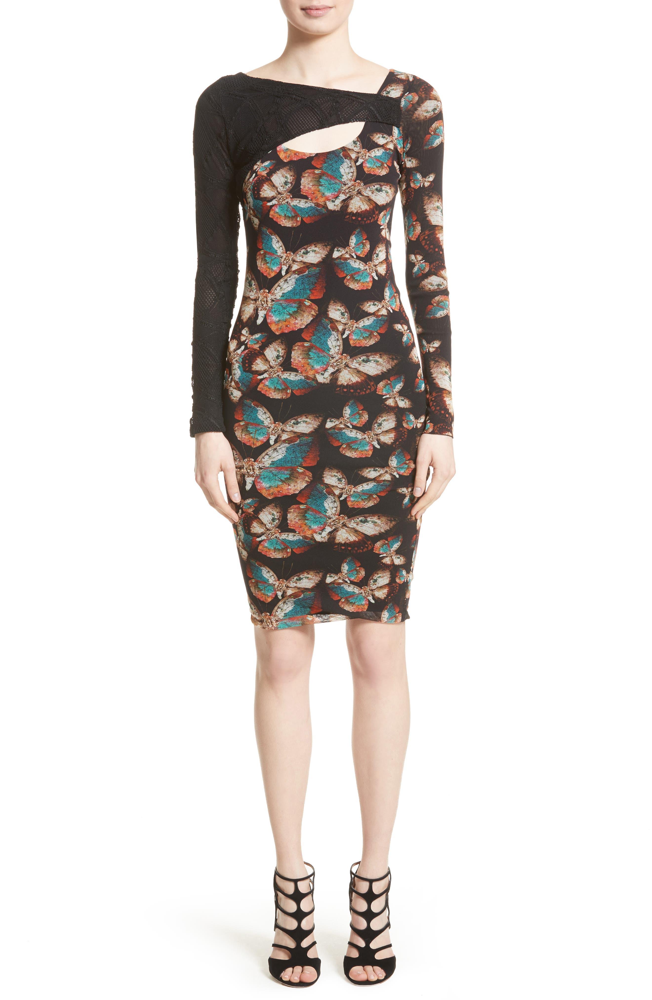 Main Image - Fuzzi Tulle Sheath Dress