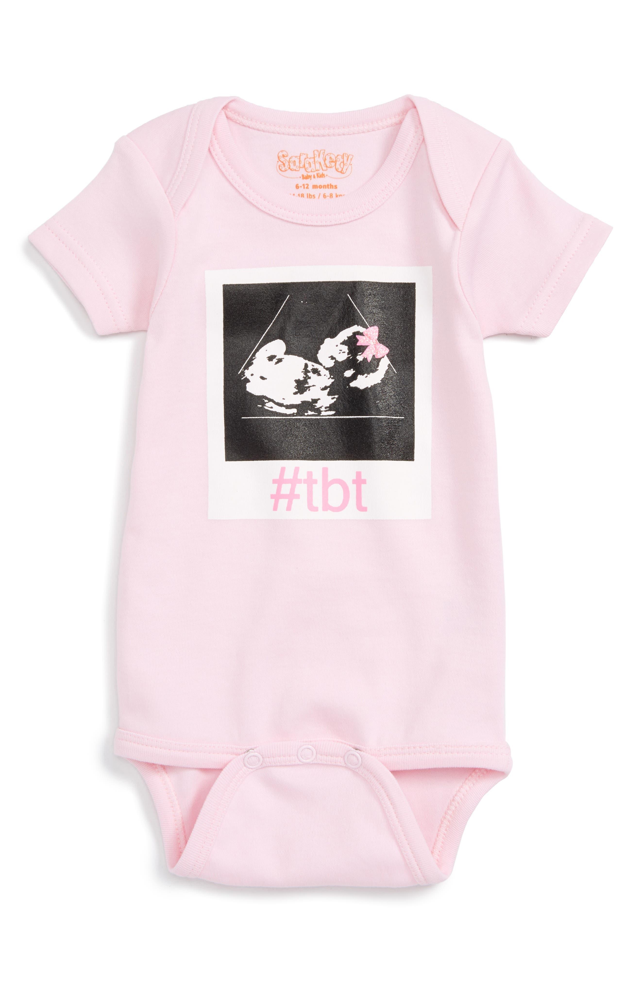 Sara Kety Baby & Kids #TBT Bodysuit (Baby Girls)