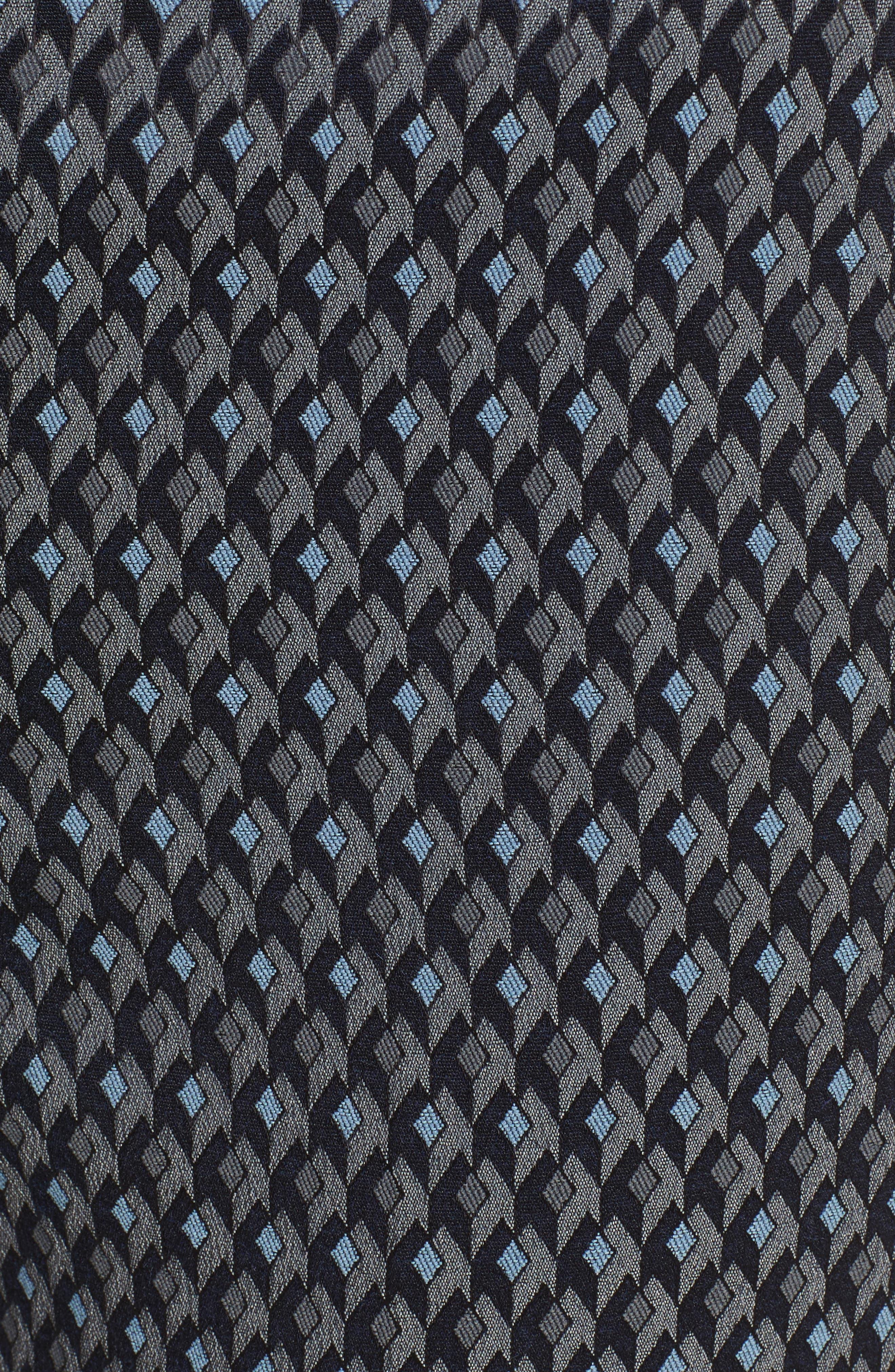 Alternate Image 5  - Theory Treeca 2 Geo Jacquard Stretch Crop Pants