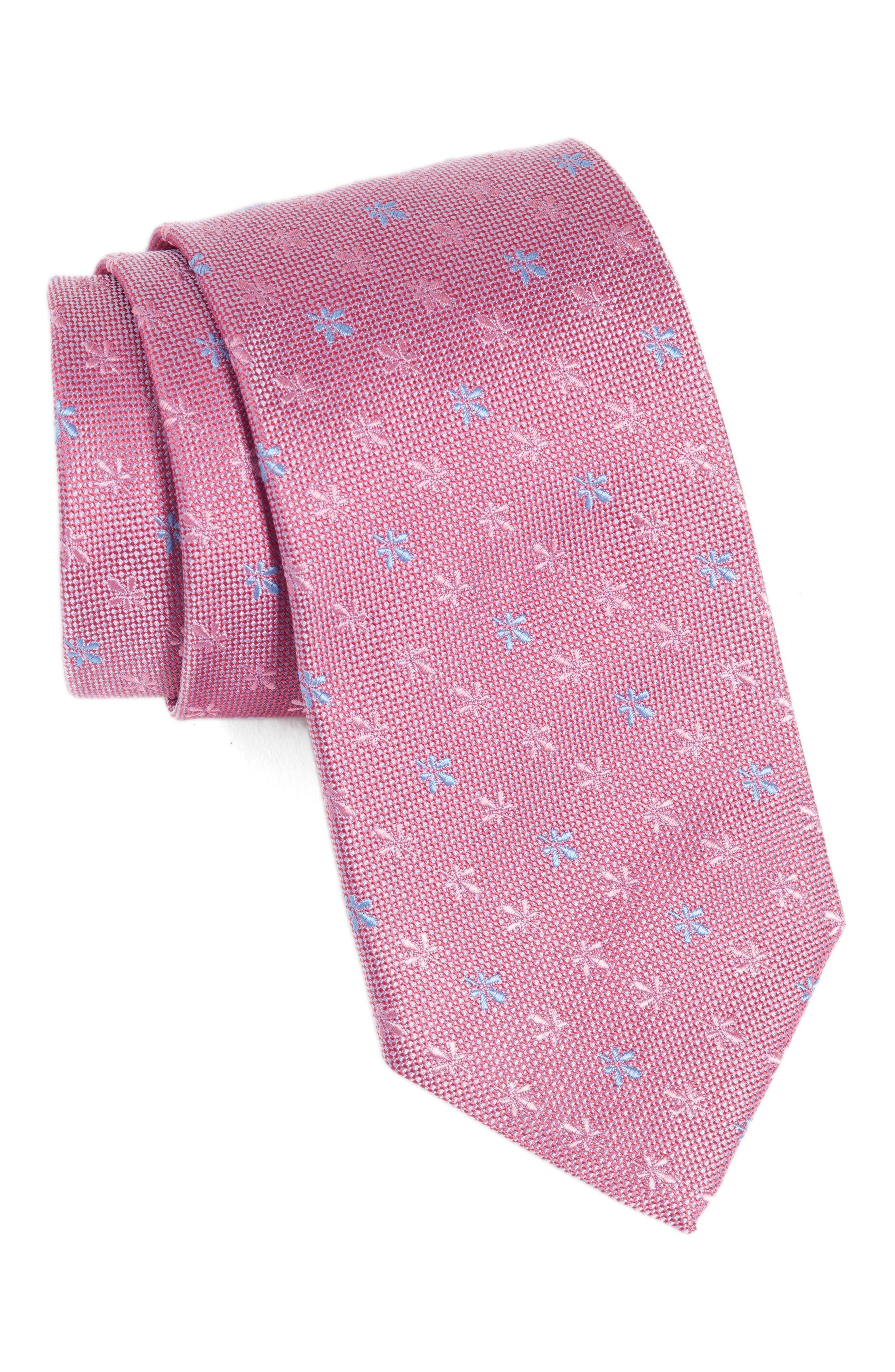 BOSS Floral Silk Tie