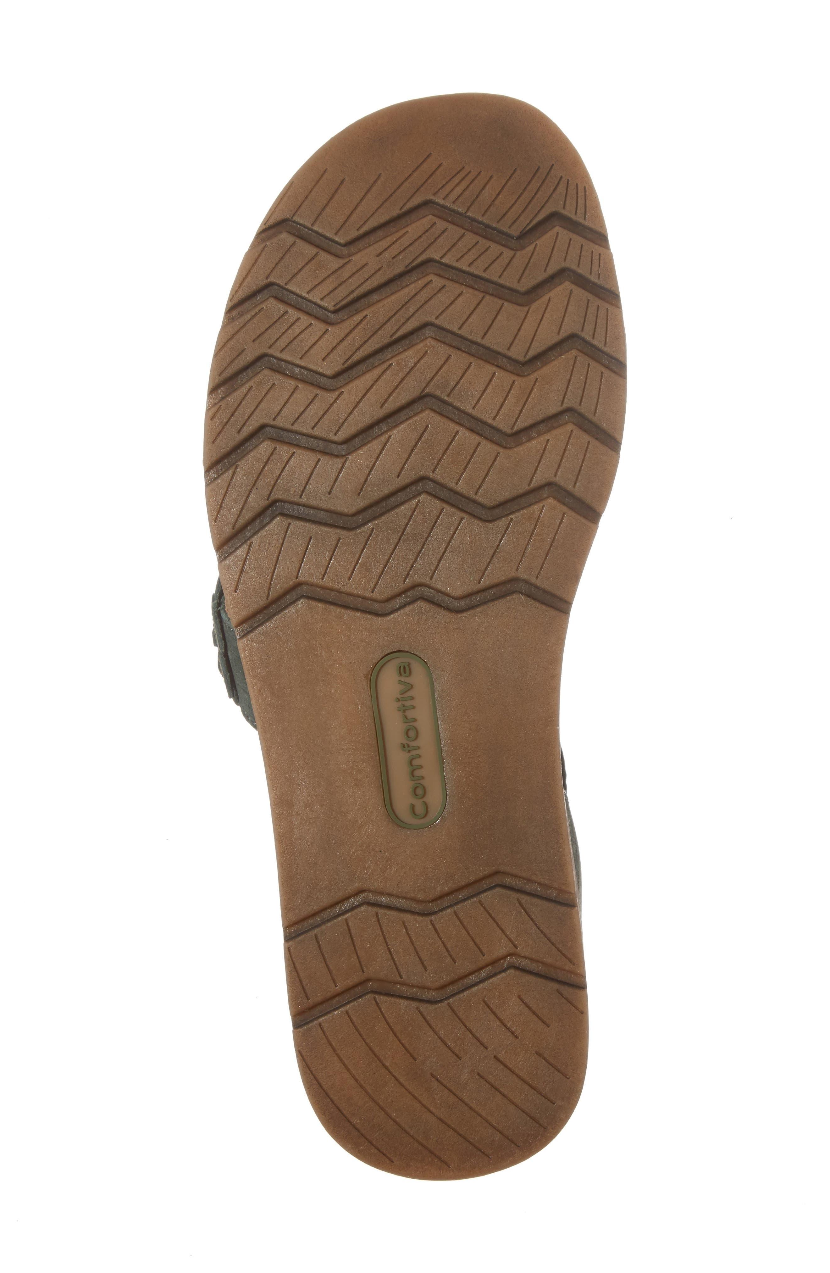 Alternate Image 6  - Comfortiva Alyssa Flower Appliqué Sandal (Women)