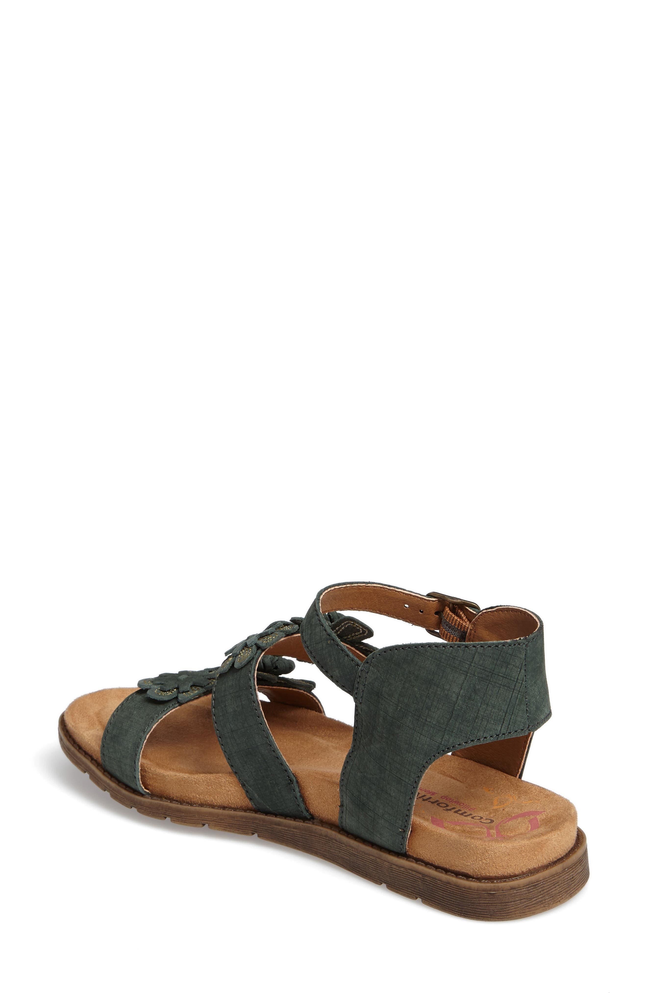 Alternate Image 2  - Comfortiva Alyssa Flower Appliqué Sandal (Women)