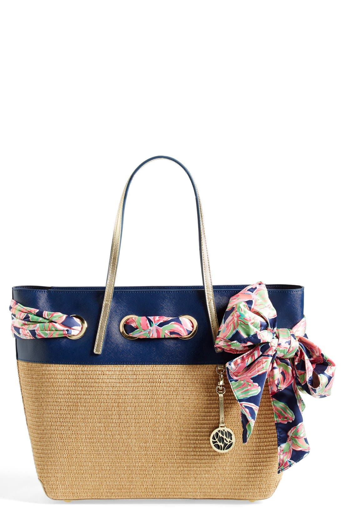 Alternate Image 1 Selected - Lilly Pulitzer® 'Resort' Straw Tote