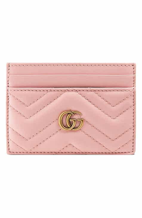 5748695ef57 Gucci GG Marmont Matelassé Leather Card Case