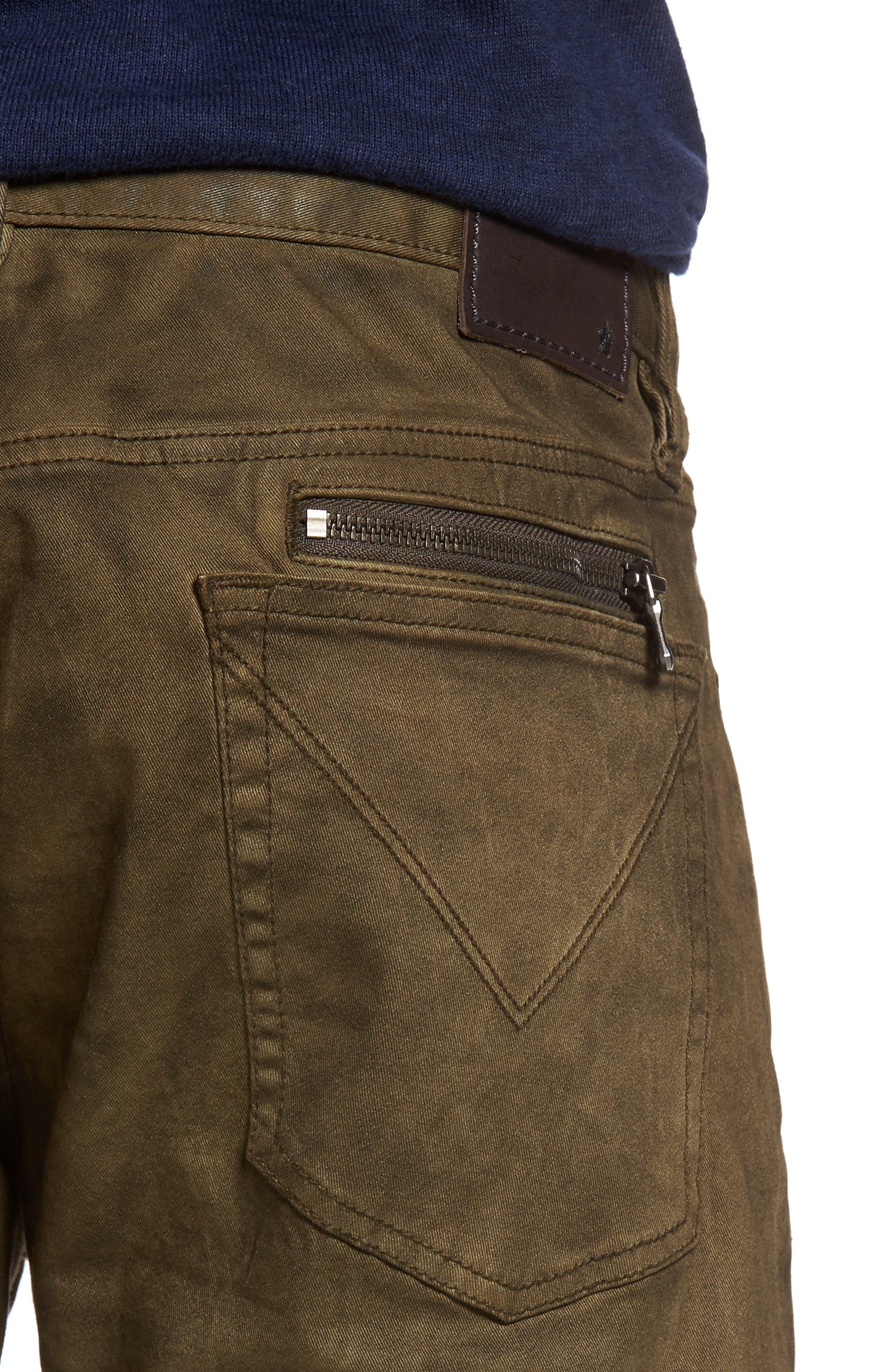 Alternate Image 4  - John Varvatos Star USA Wight Skinny Jeans