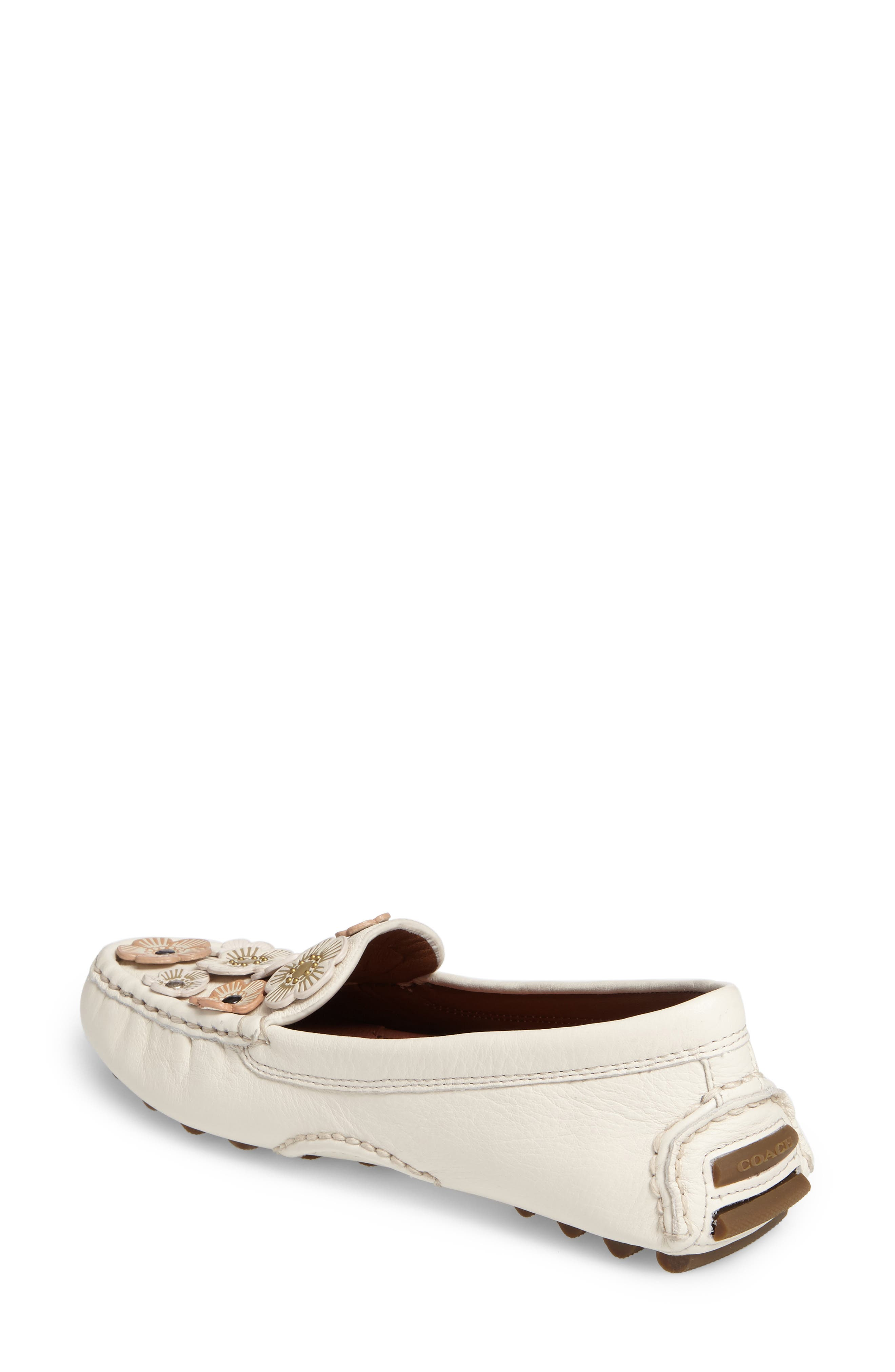 Alternate Image 2  - COACH Tea Rose Driving Loafer (Women)