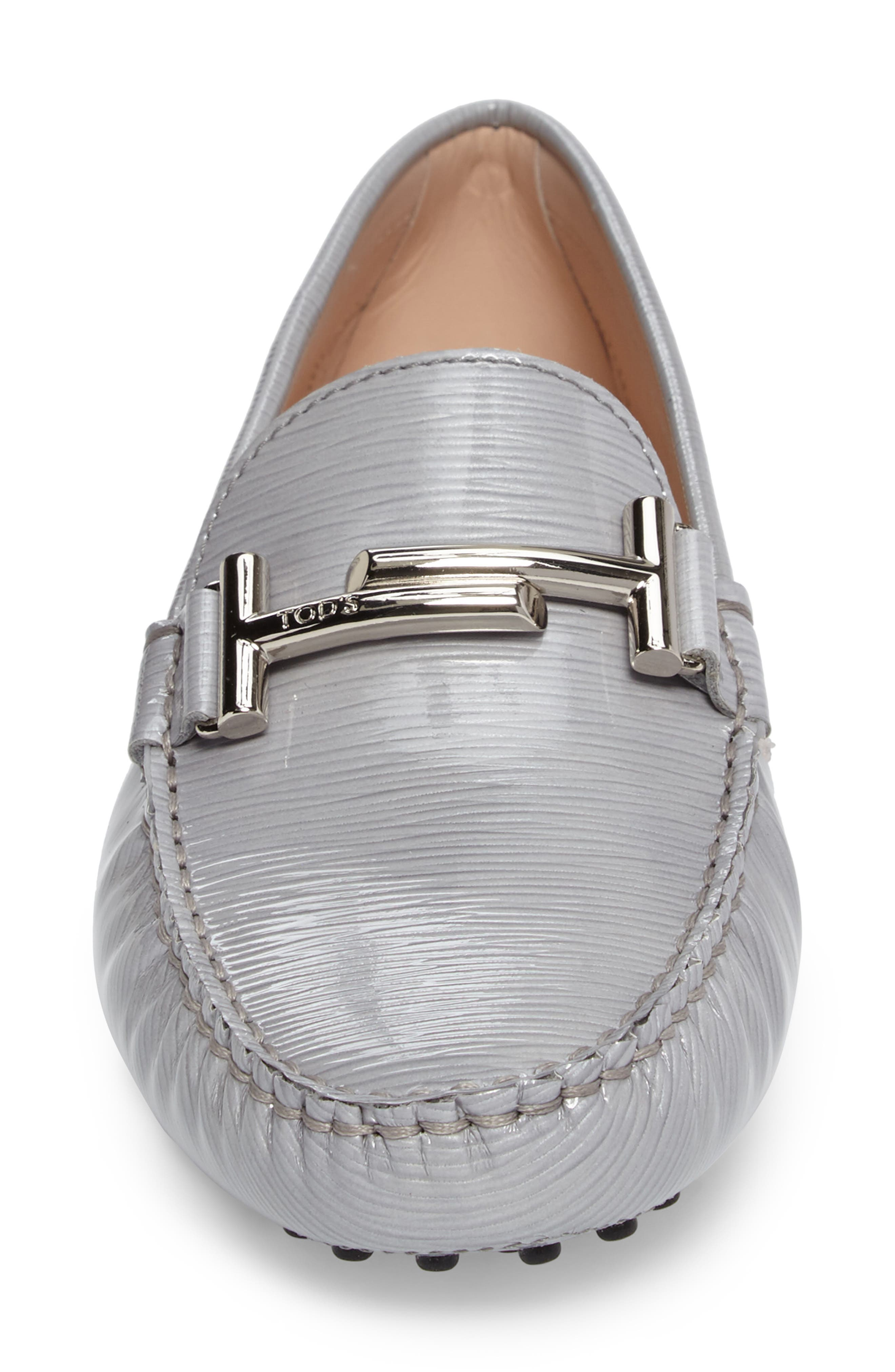 Alternate Image 4  - Tod's Gommino Double-T Striated Driving Shoe (Women)