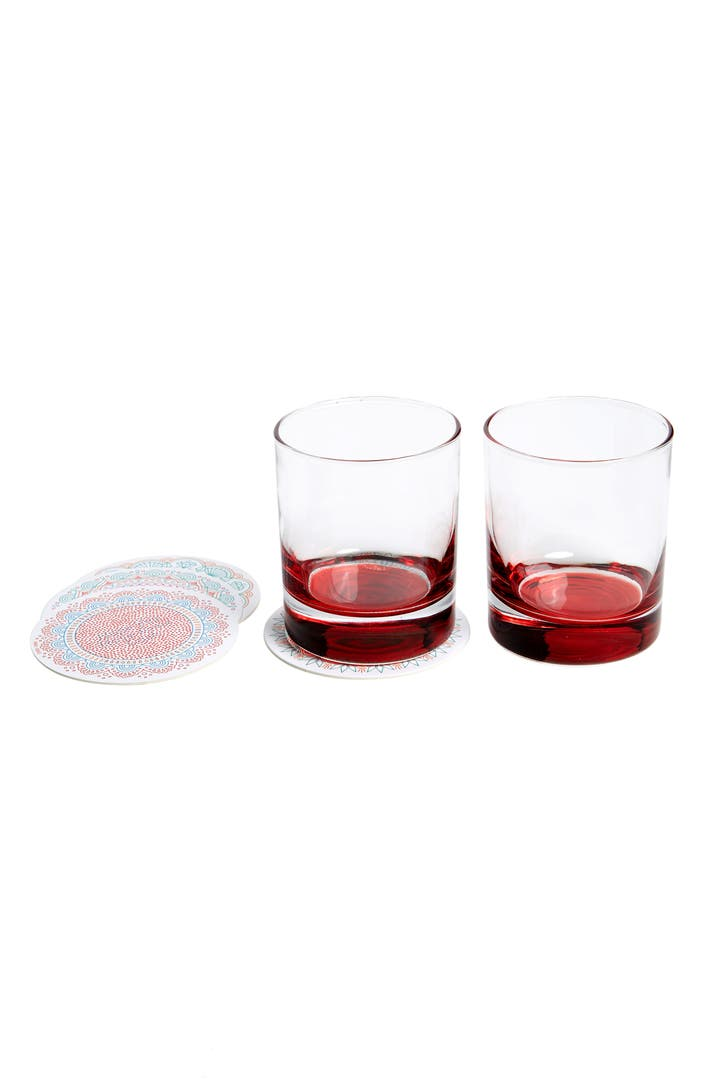 Fred friends decoder drinks secret message coasters for Best coasters for sweaty drinks