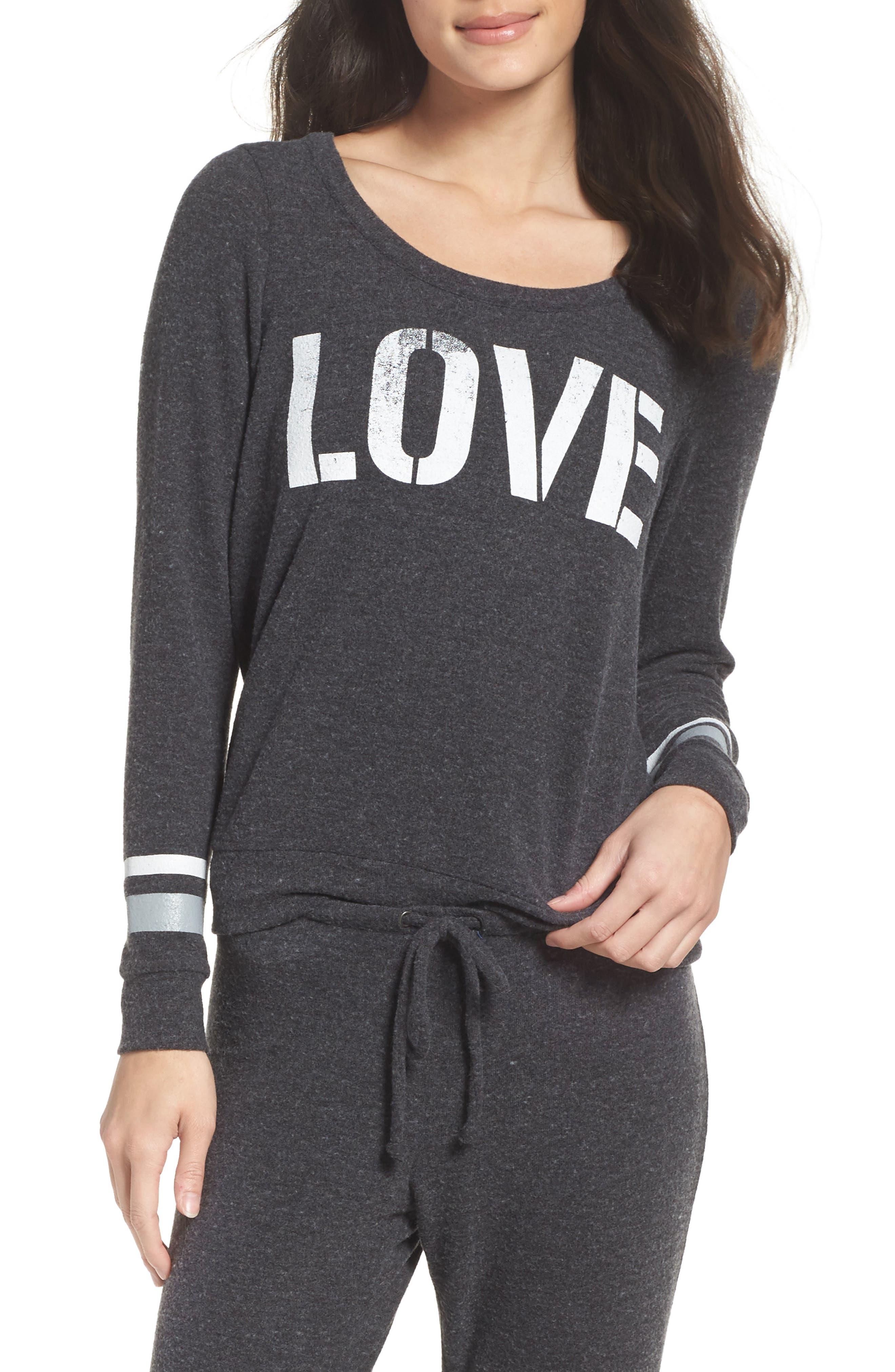 Alternate Image 1 Selected - Chaser Love Recruit Sweatshirt