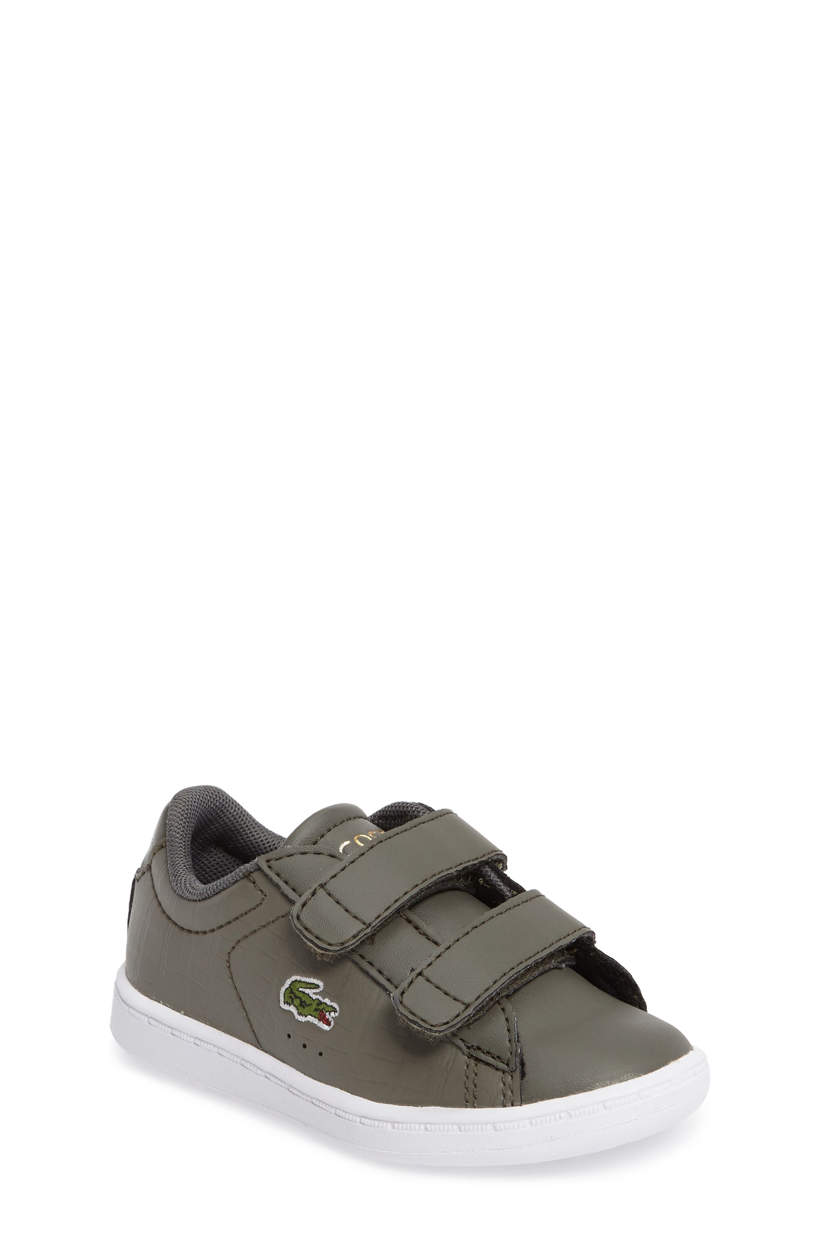 Lacoste Carnaby Evo Sneaker (Baby, Walker & Toddler)