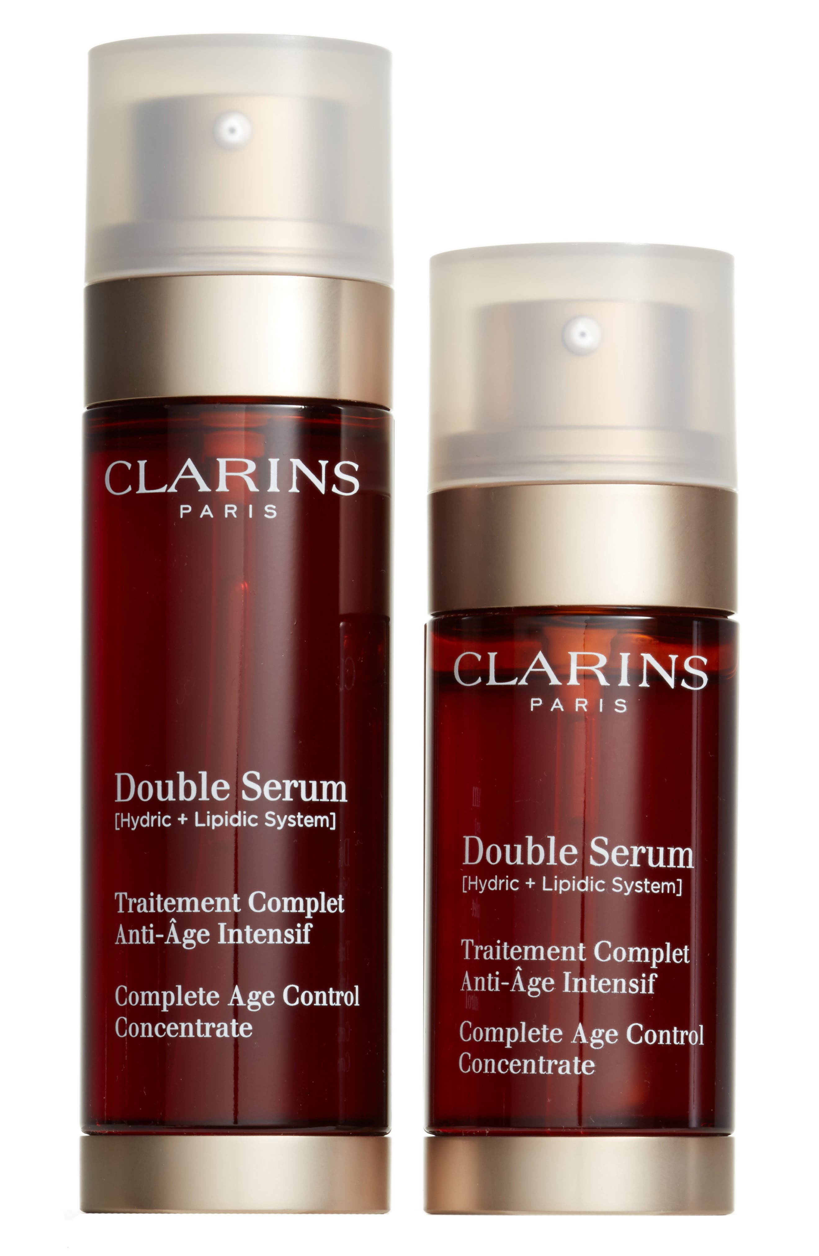 Alternate Image 1 Selected - Clarins Double Serum® Complete Age Control Concentrate Duo ($208 Value)