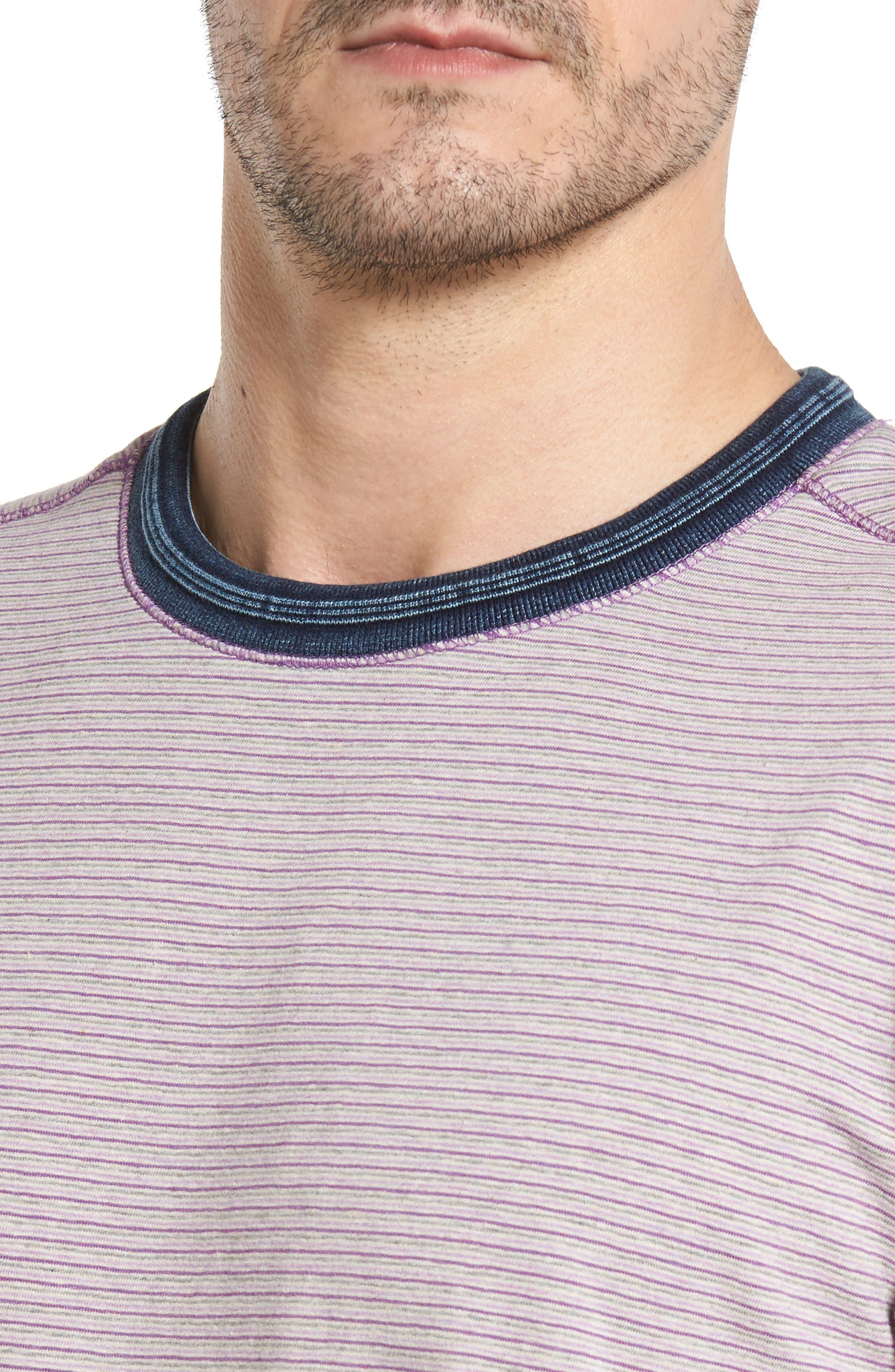 Alternate Image 4  - Thaddeus Strong Stripe T-Shirt